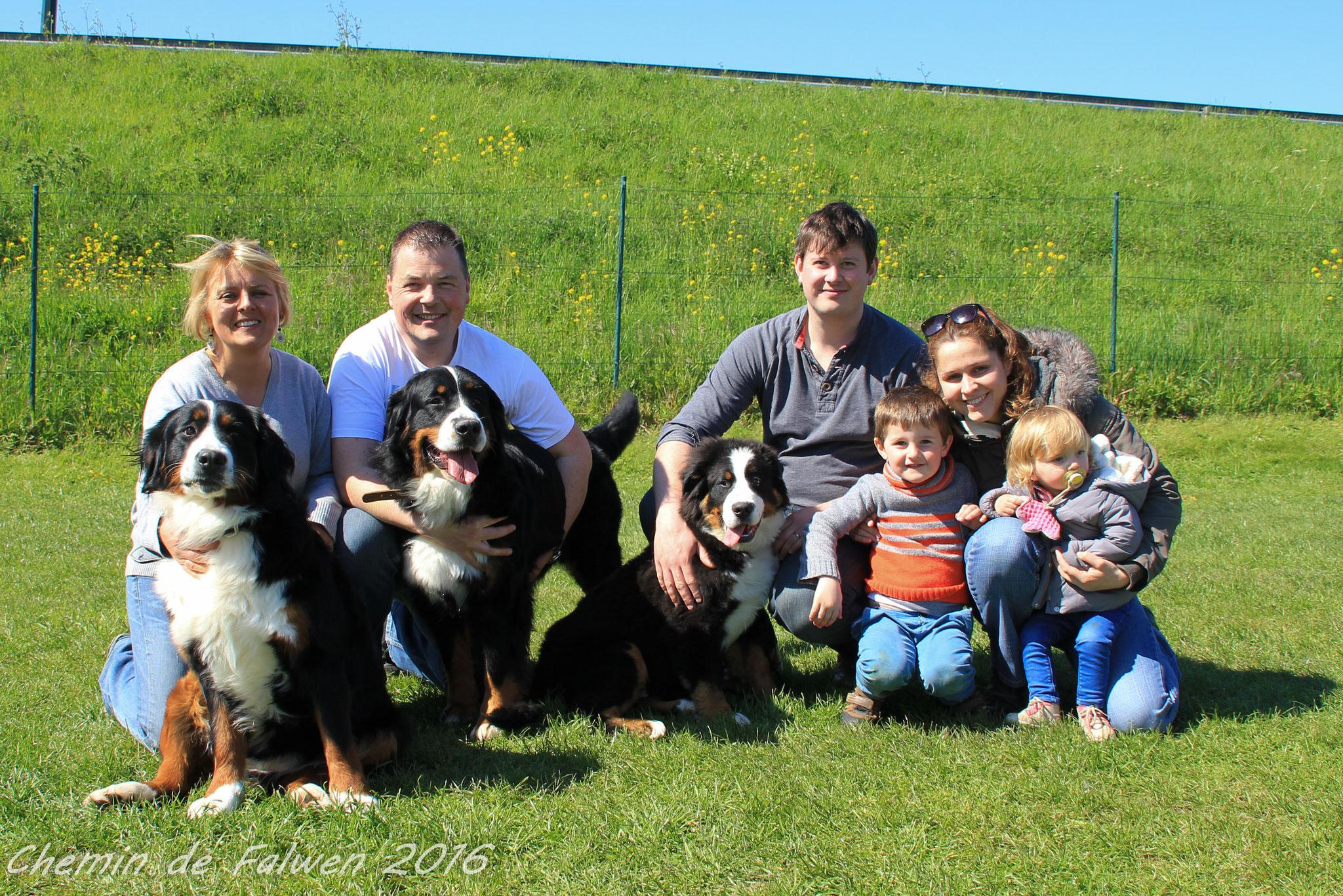 O'Dusty et sa famille