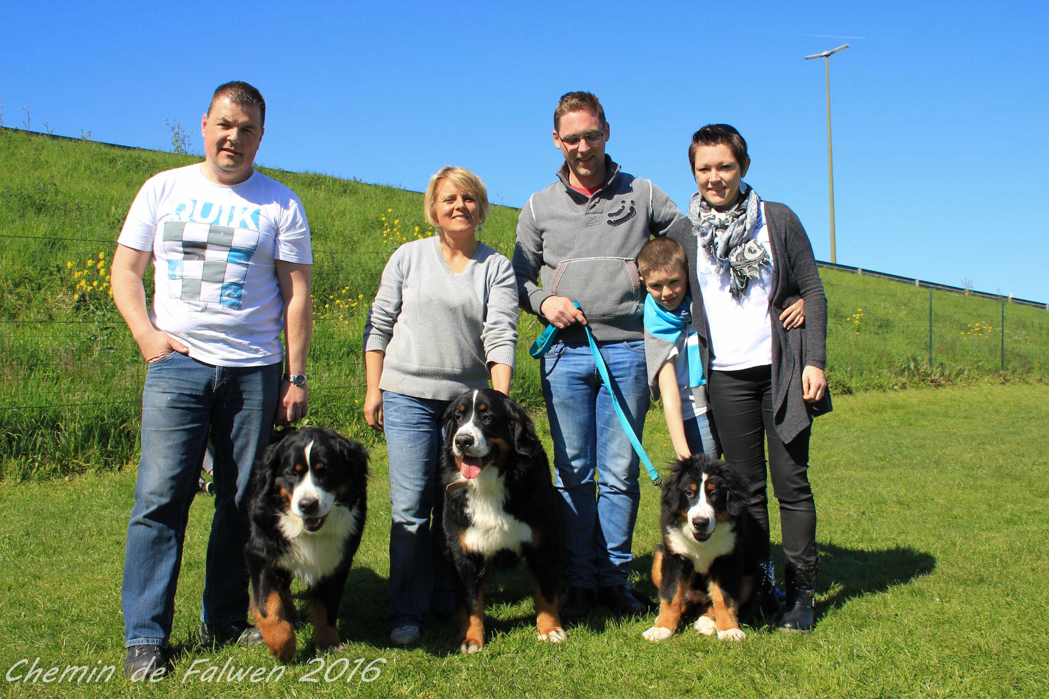 O'Marcus et sa famille