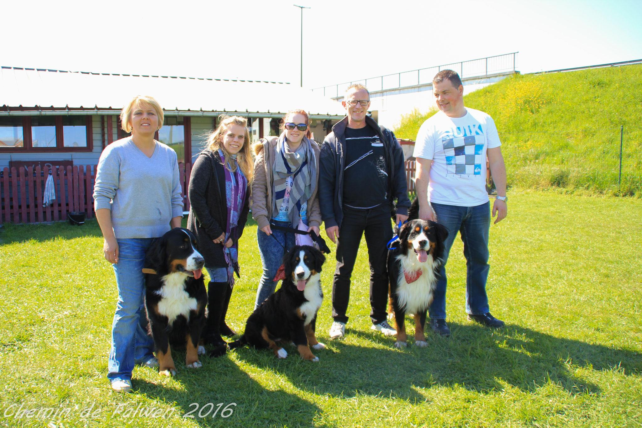 Orka et sa famille