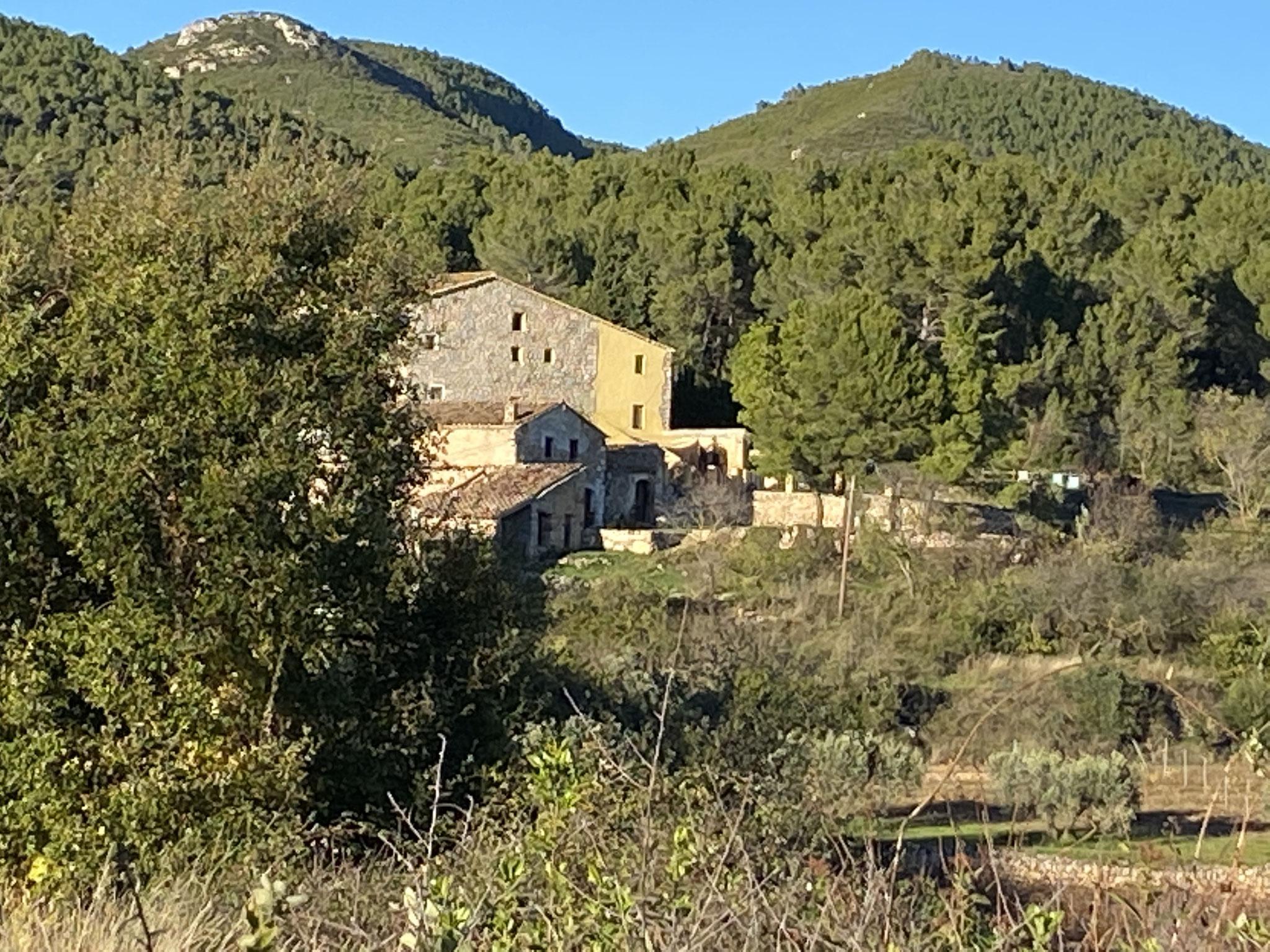 La casa des del bosc