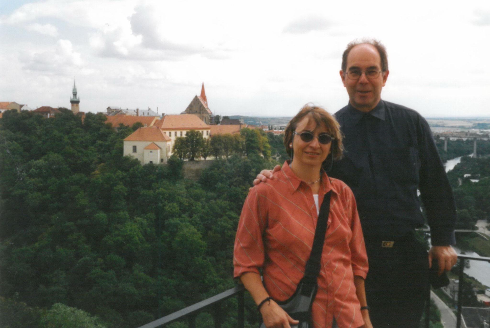 Besuch in Znojmo 2001