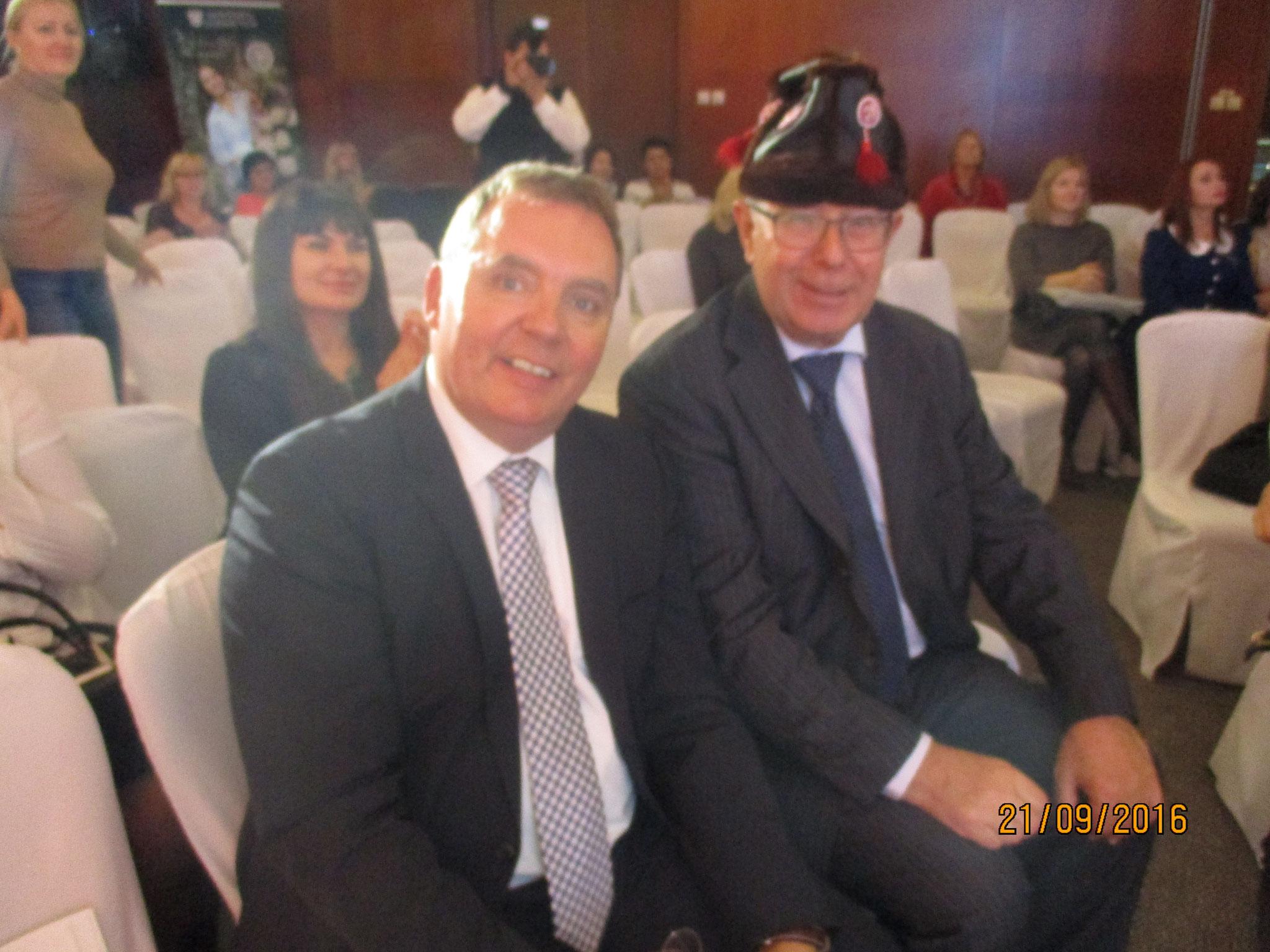 mit Volker in Moskau 2016