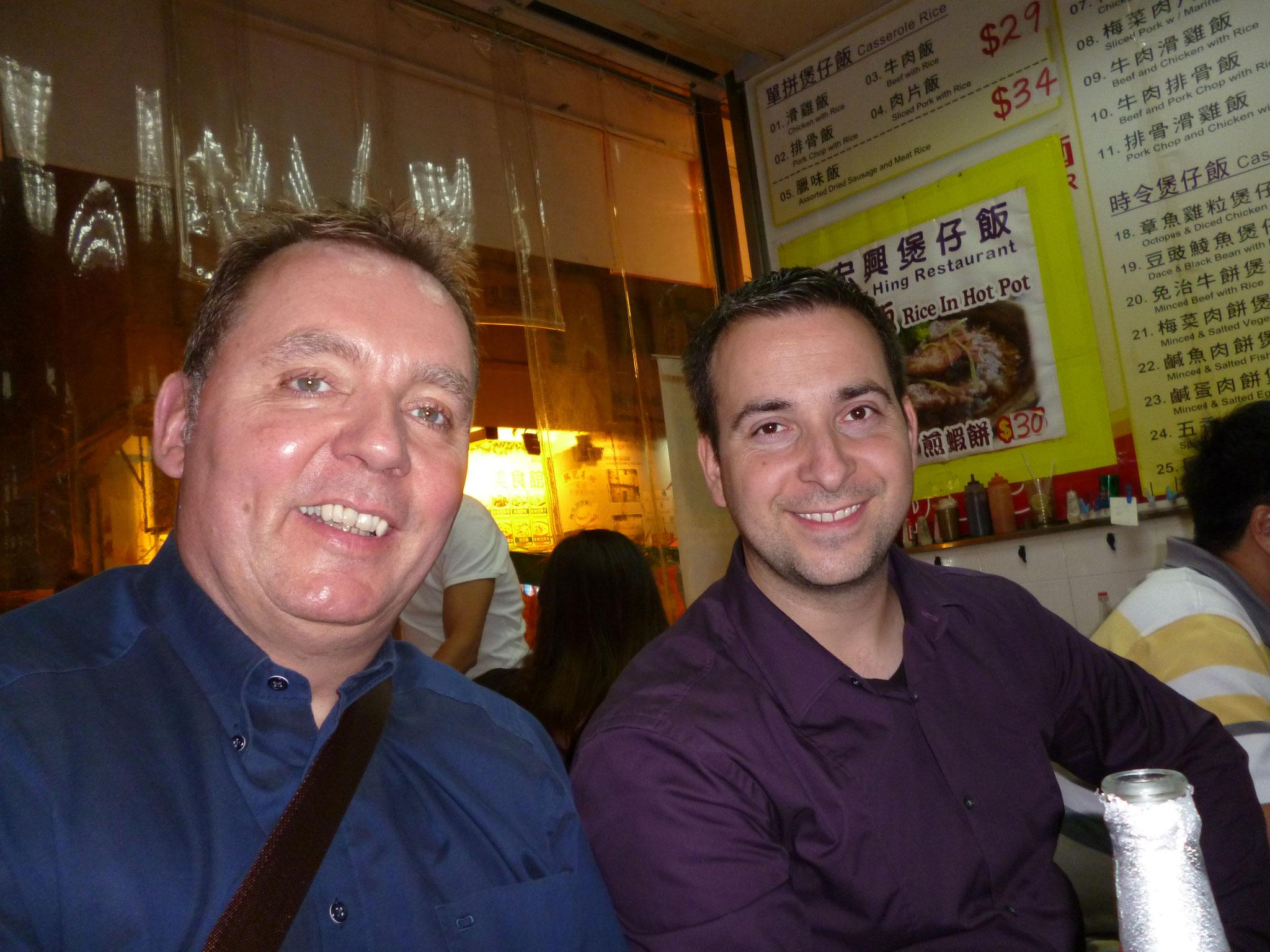 Volker Kloubert erstmals mit Inspira in Hong Kong