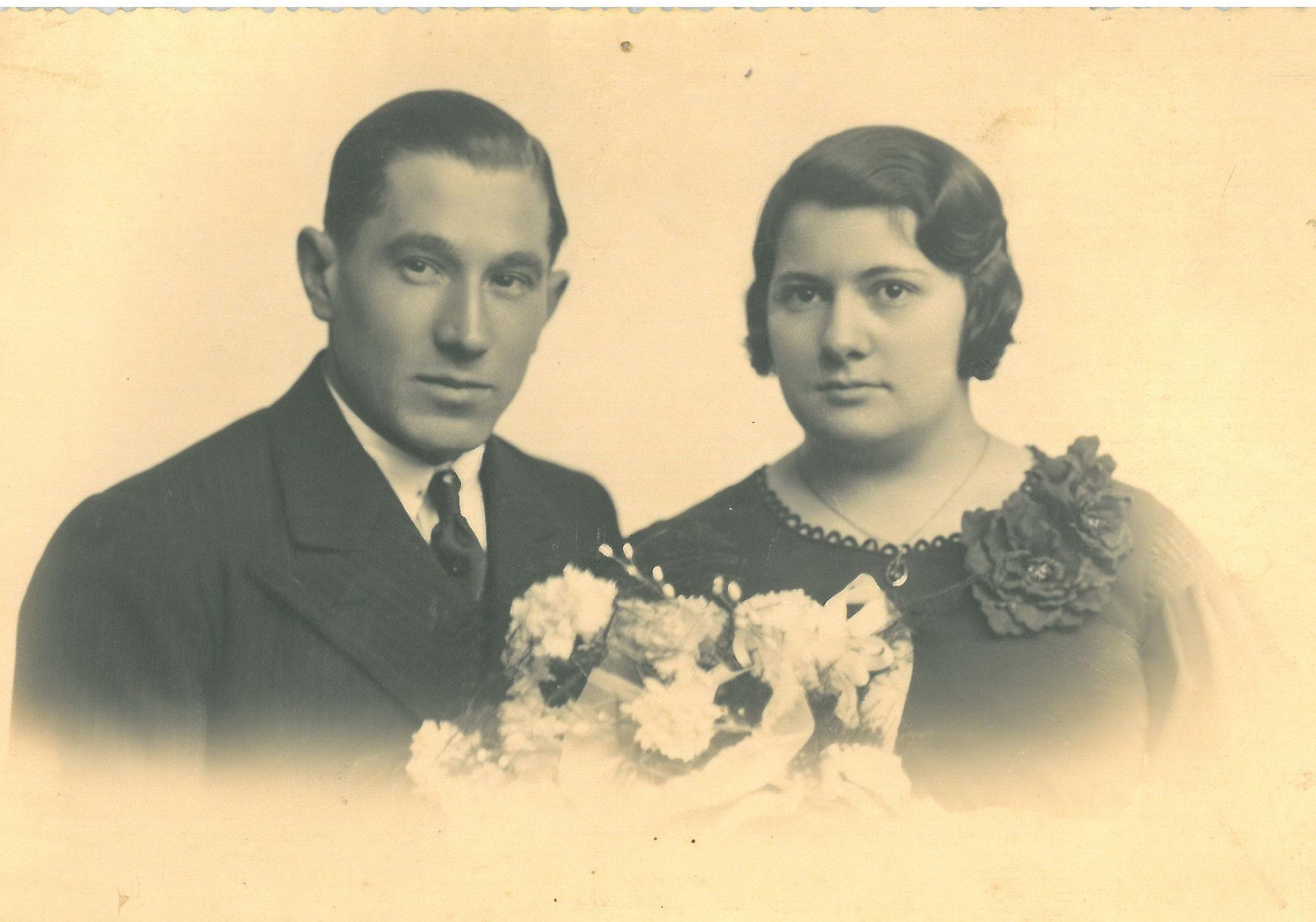 Jean Klein mit Marie