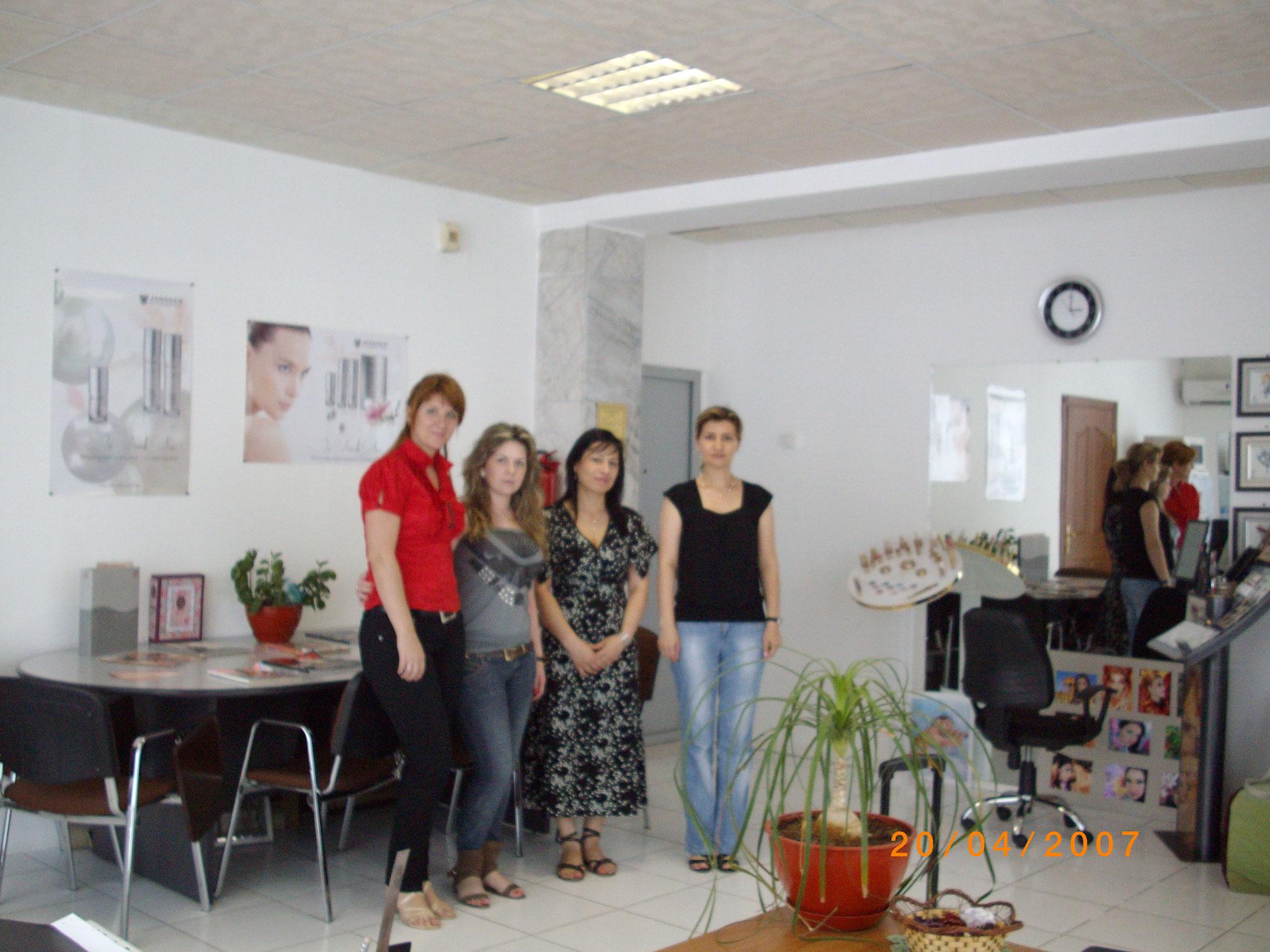 Renate in Turkmenistan 2010