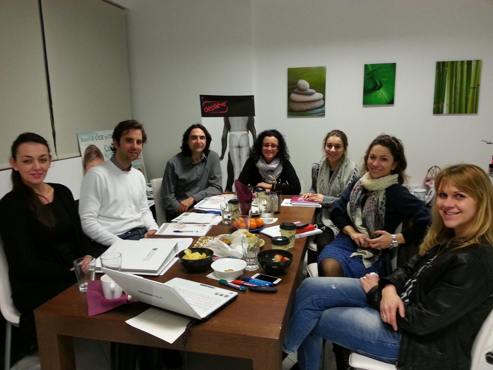 Das neue Team in Athen 2014