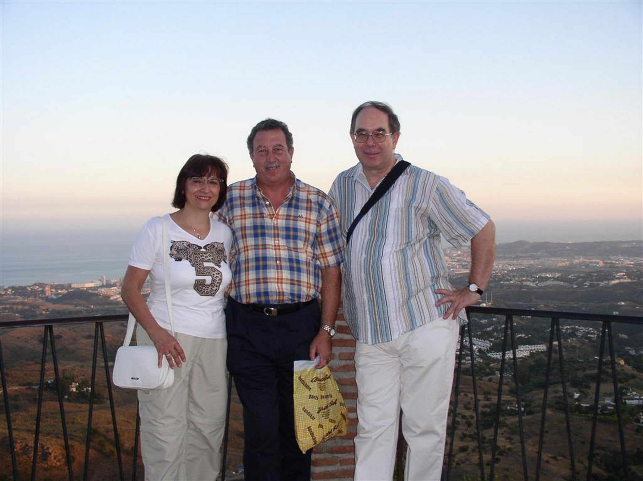 Meeting with Jose Luis Conde in Malaga and Torremolinos 2004