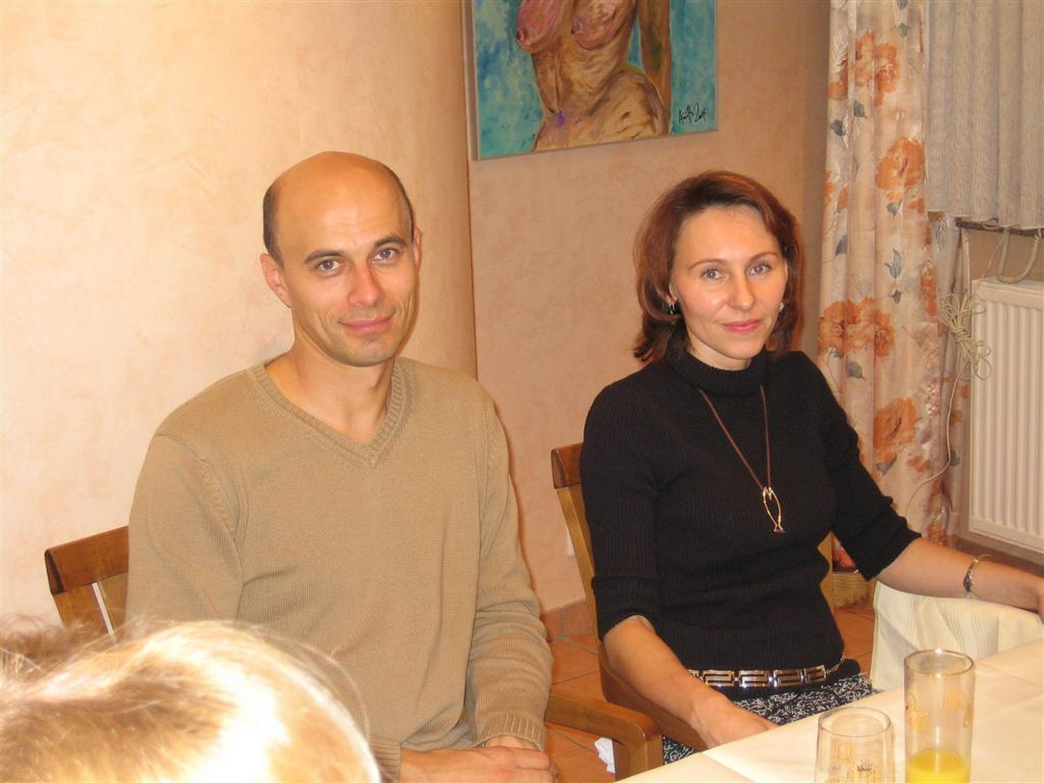 Priit and Inna 2004