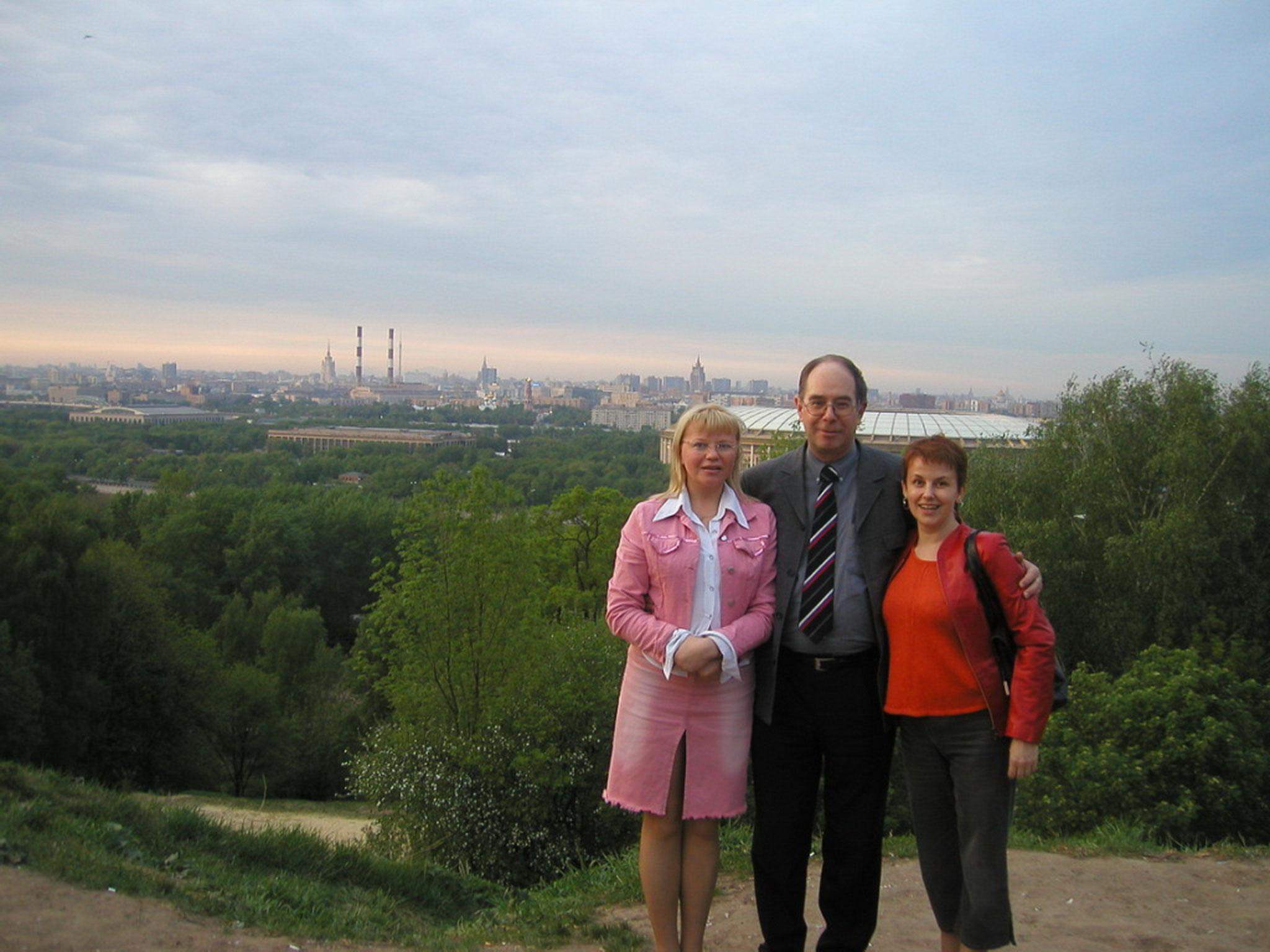 Zu besuch bei Lena und Tatyana 2002
