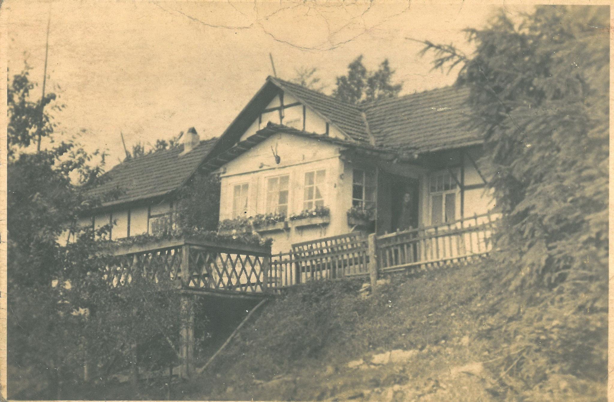 Haus der Evakuierung in Netra bei Eschwege