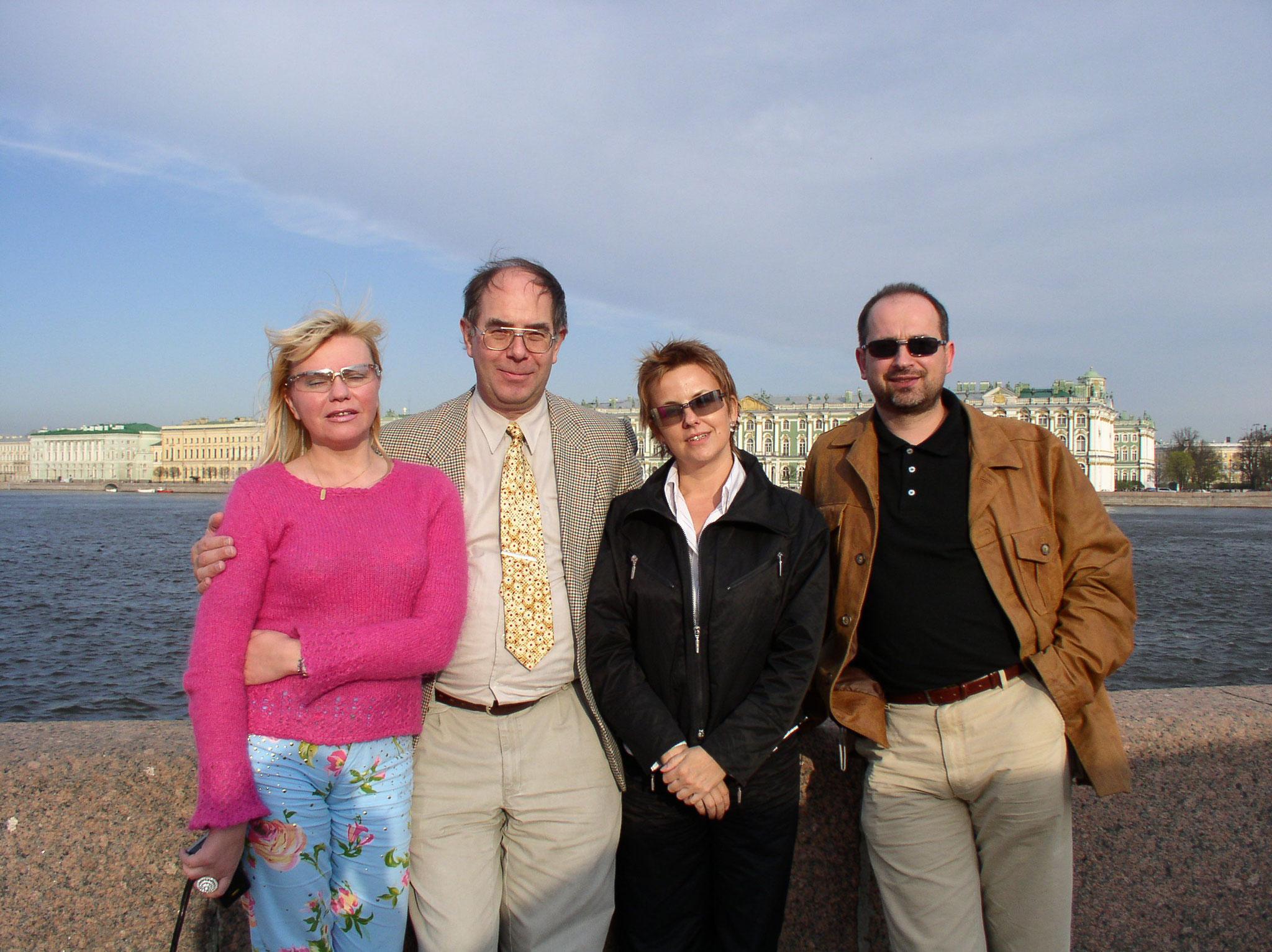 Zu Besuch in St. Petersburg 2003