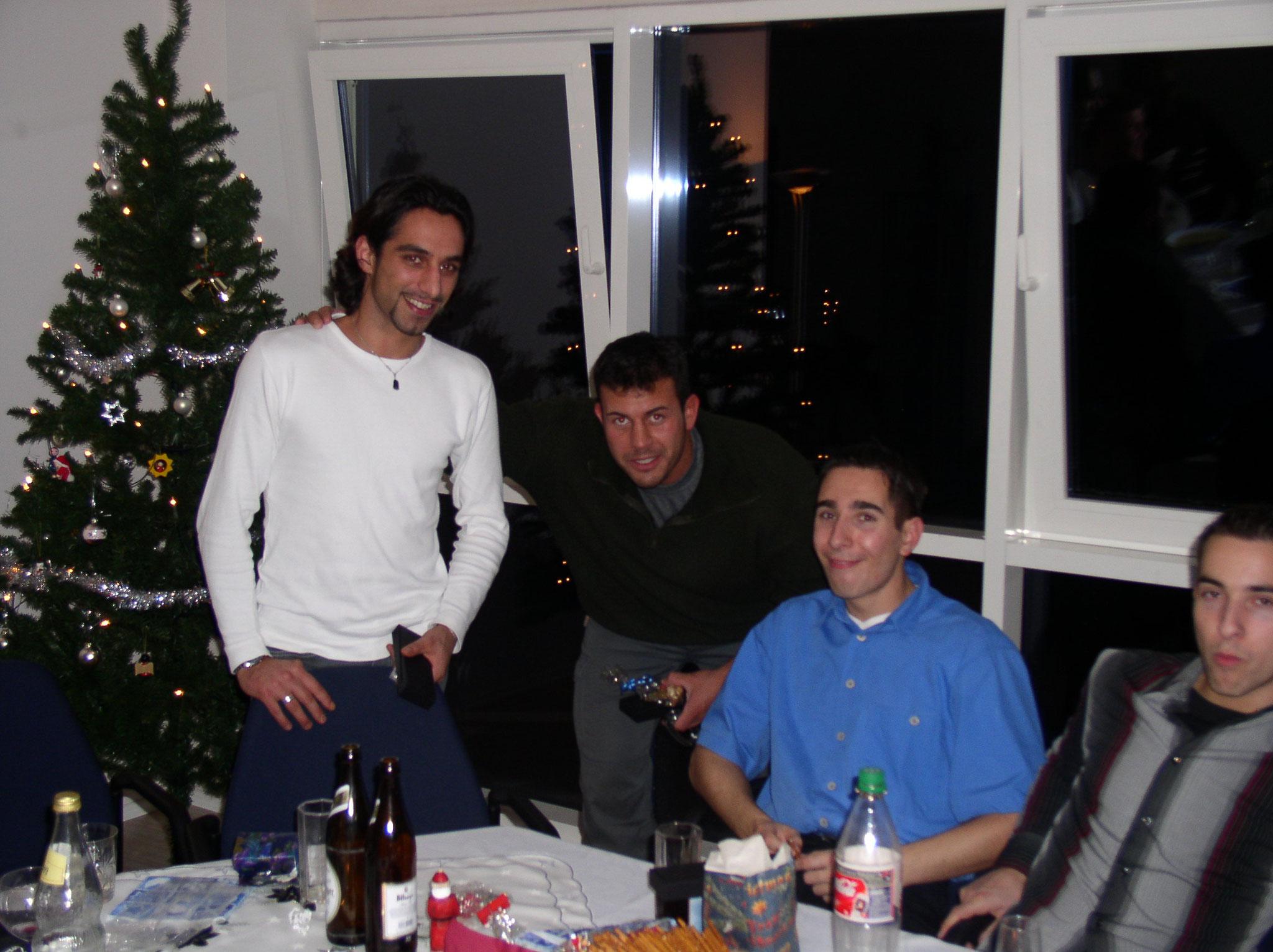 Weihnachtsfeier in Aachen 2003