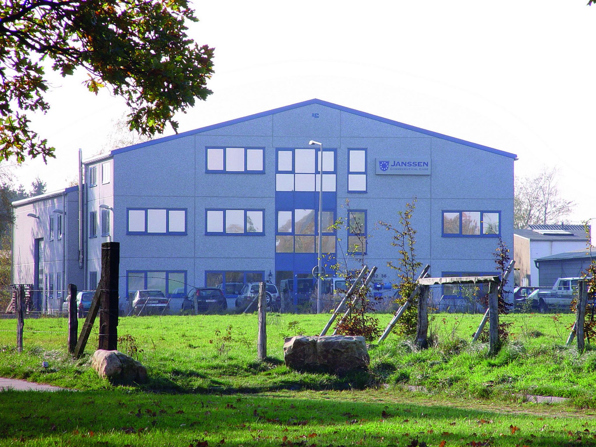 Der neue Firmensitz 2001