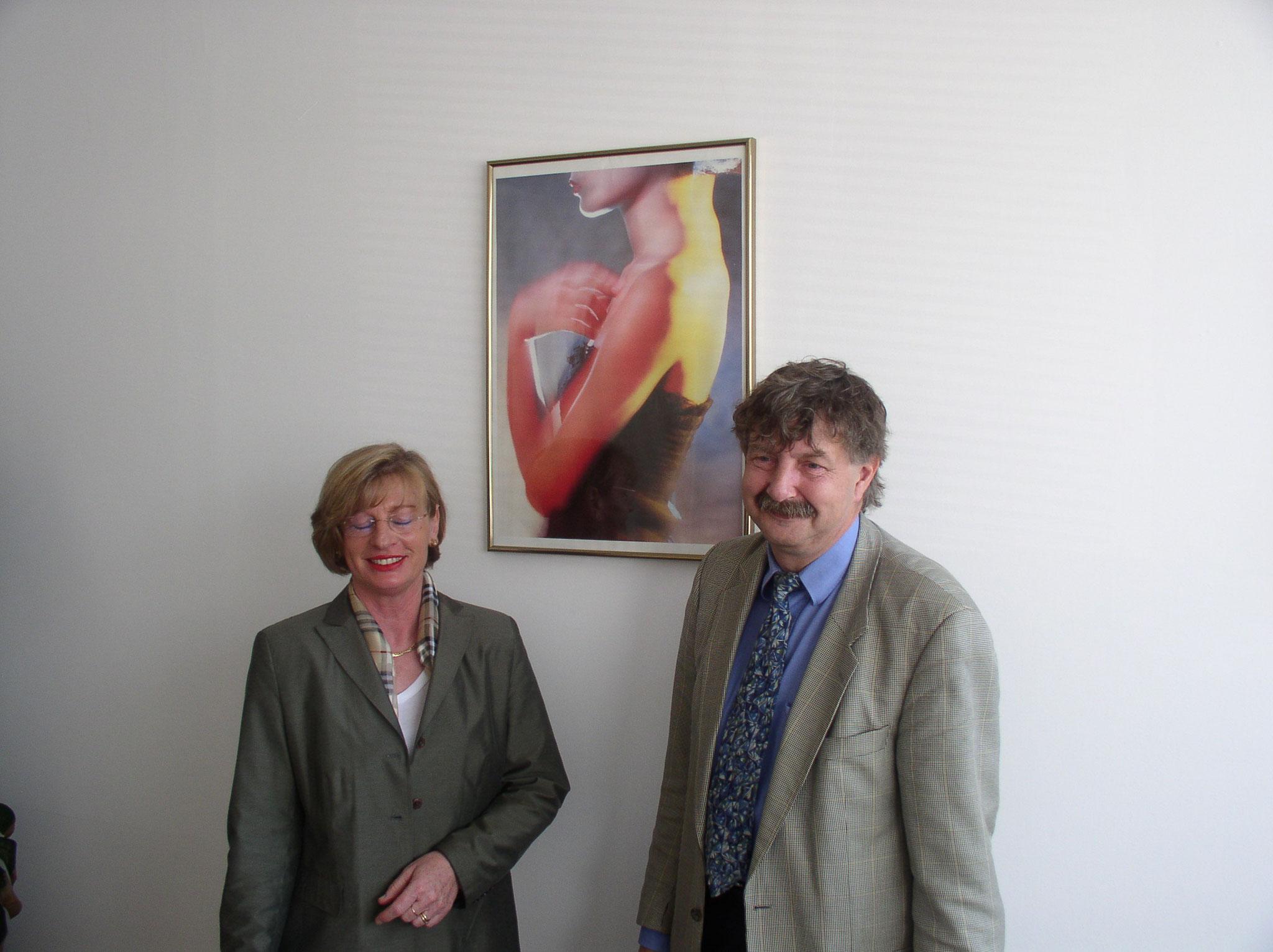 Besuch bei Herrn Kühn von neocos - 2003