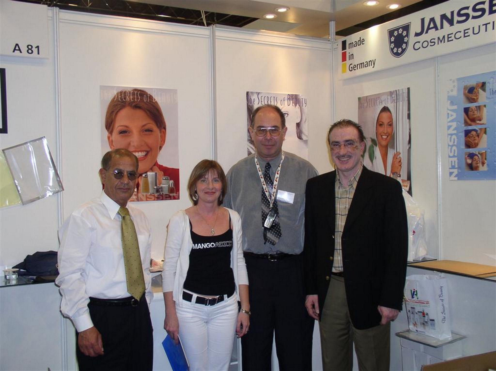 Luba abd Fahmi from Jordan at Dubai Expo 2004