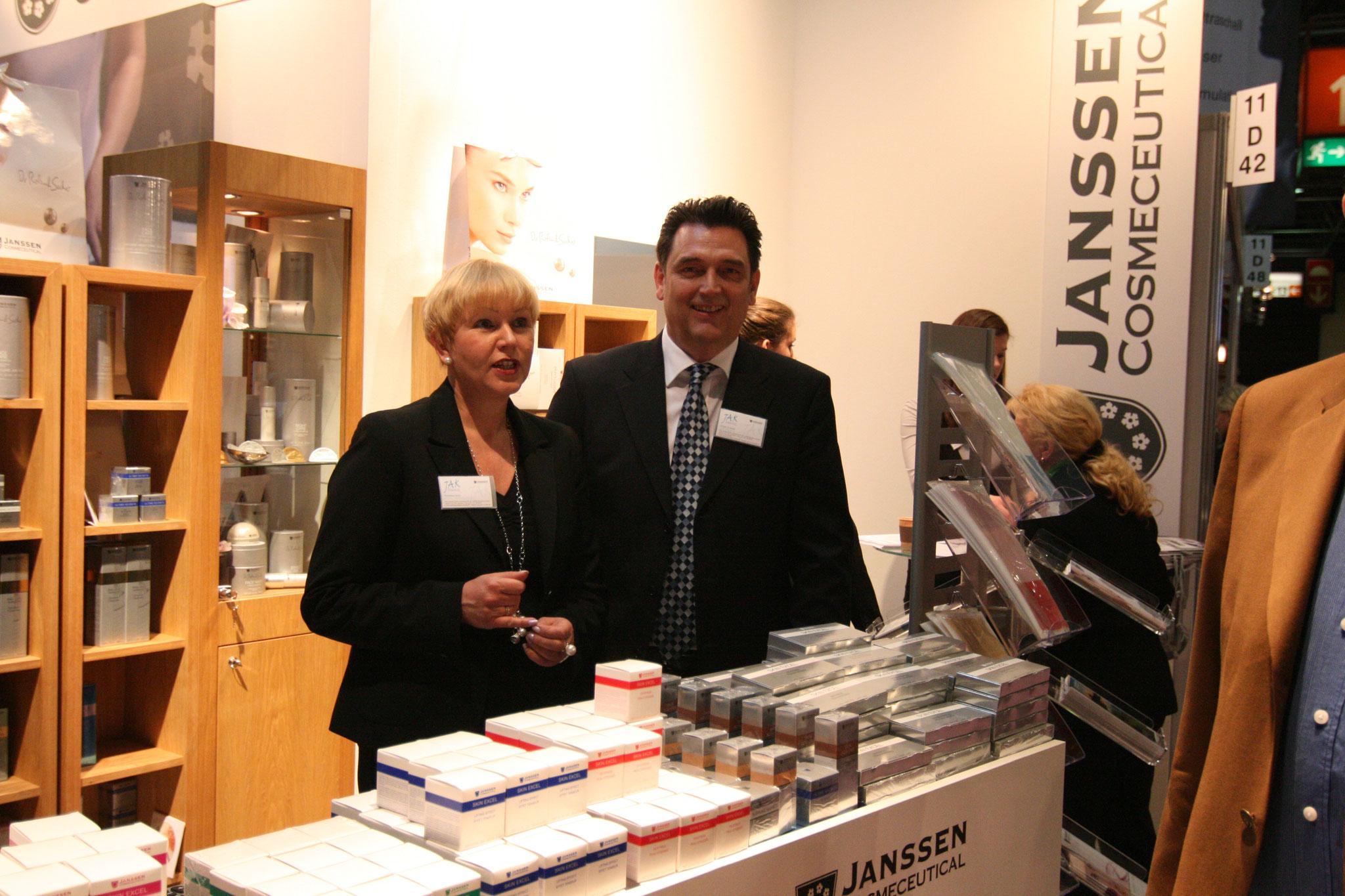 Jürgen Korte und seine Frau Roswitha 2010