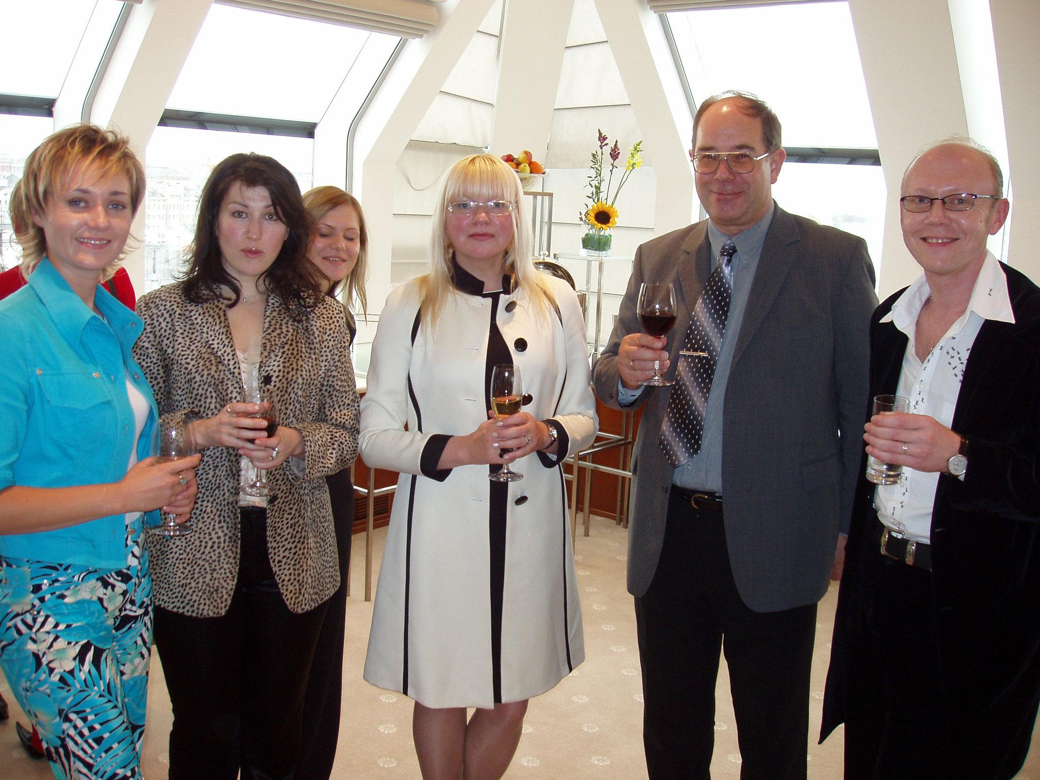 Press Conference in Ararat Hyatt 2003