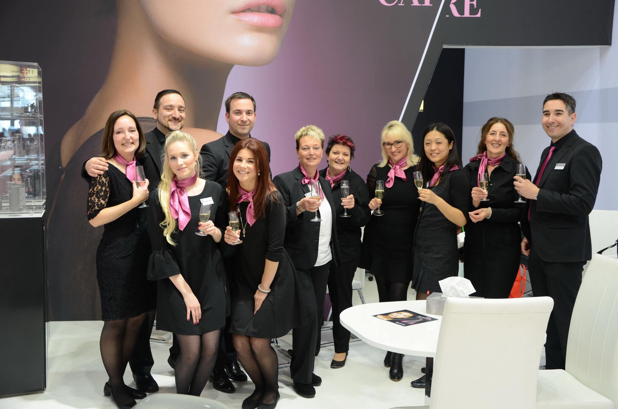 Mitarbeiterinnen im Aussendienst Düsseldorf 2017