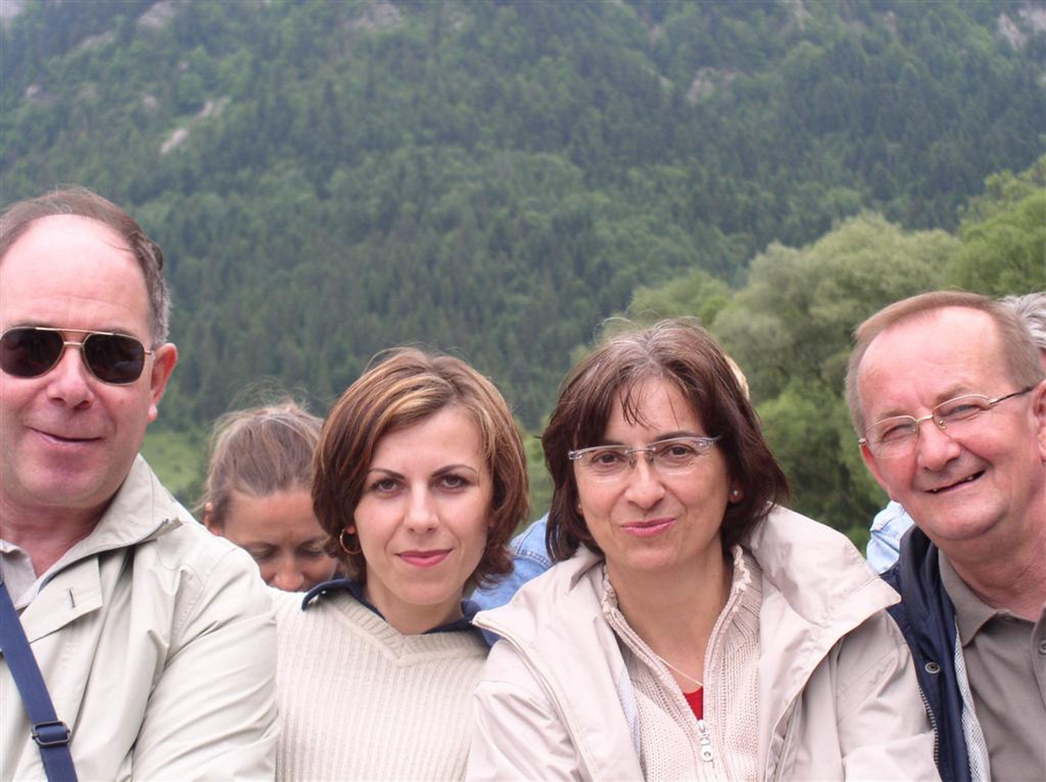... visit to Stanislaw in Krinica 2004