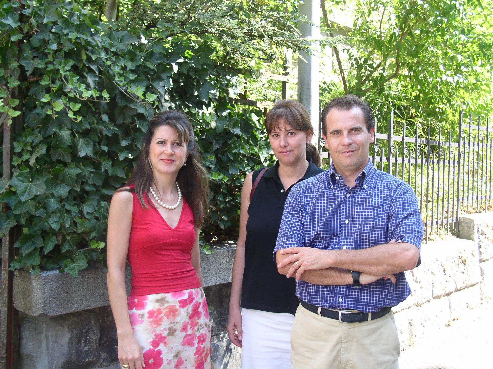 Gabriella & Riccardo in Zuricho with Carmela Ramundo