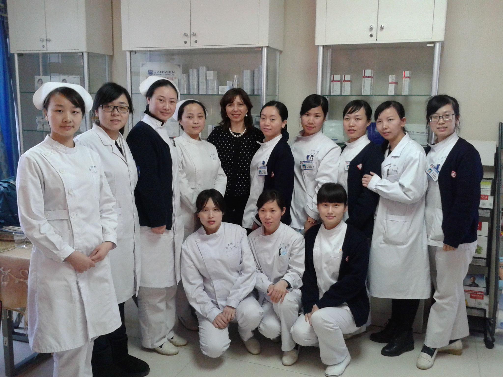 Renate in Shen Zhen 2014
