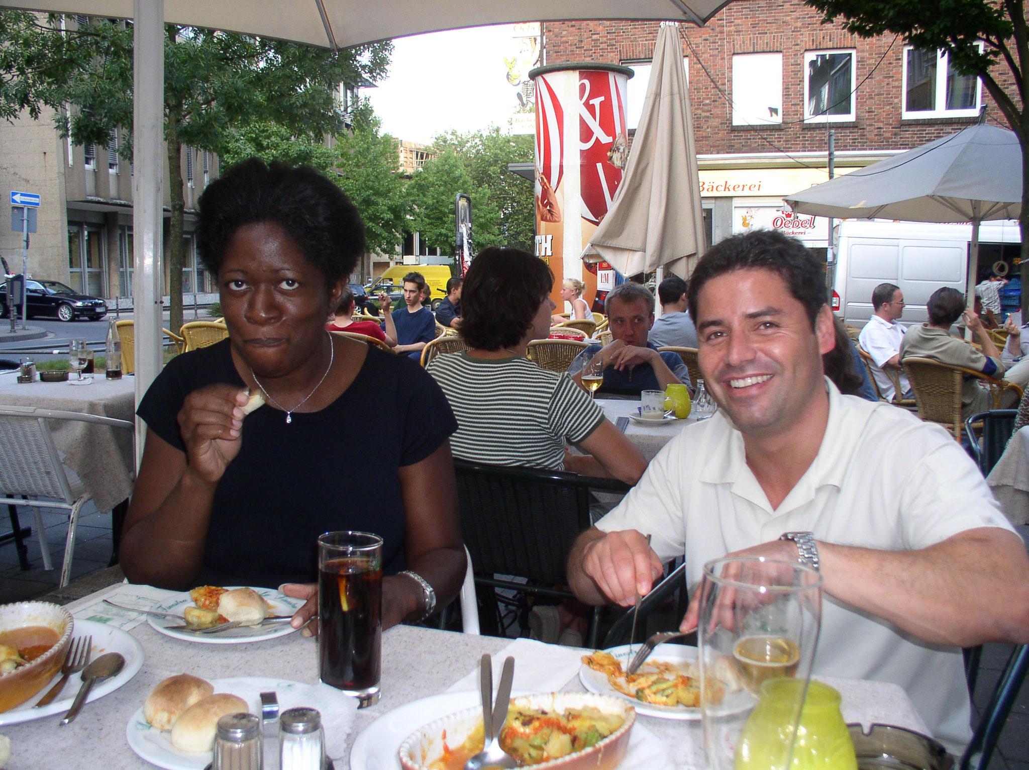 Jennifer and Renato in Aachen 2003