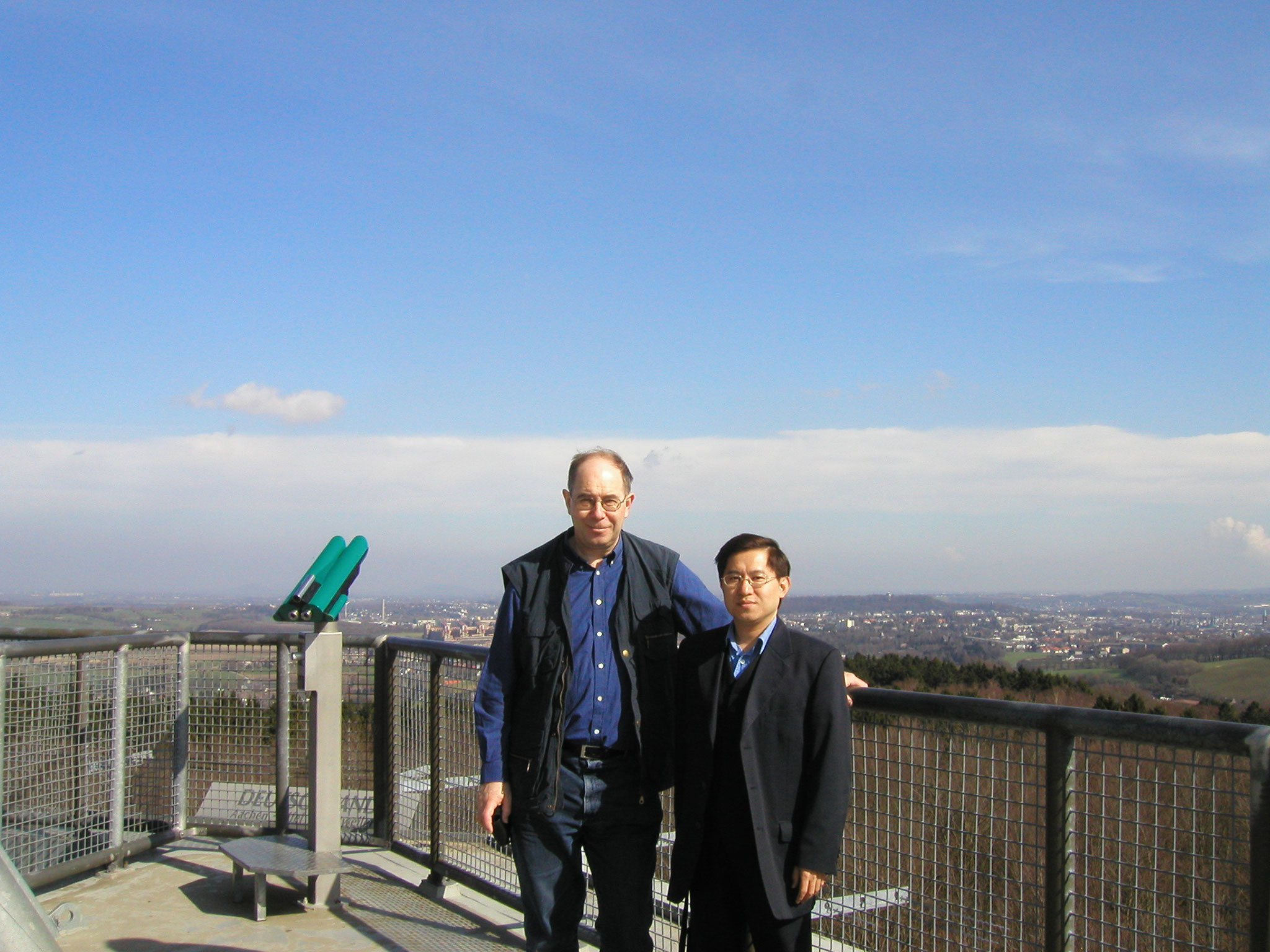 James Chan in Aachen