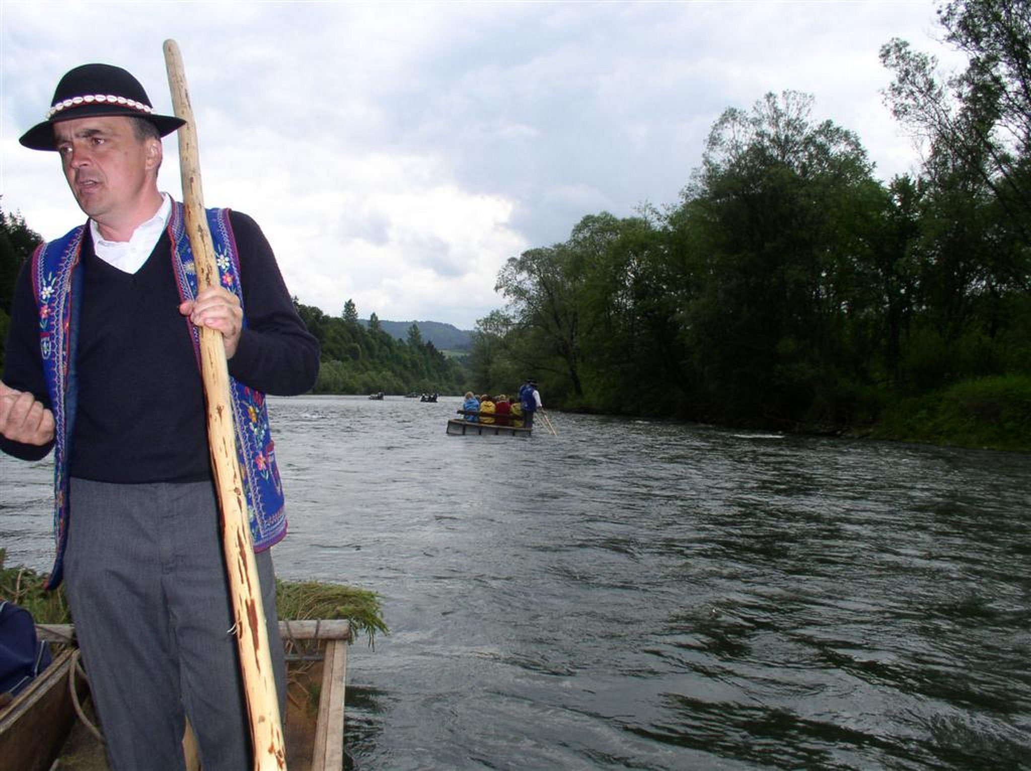 ... rafting on Slovak border