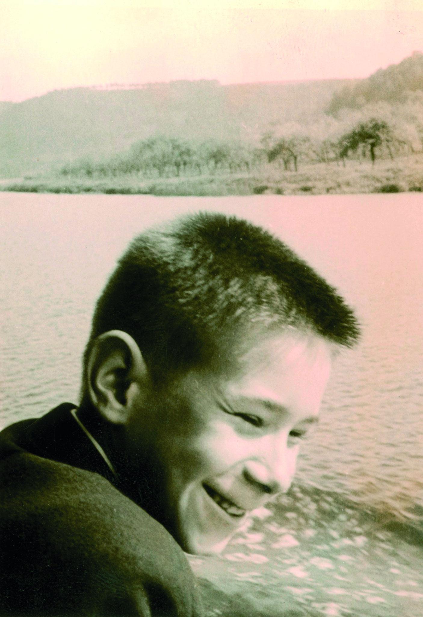 Walther auf der Maas bei Dinant 1959