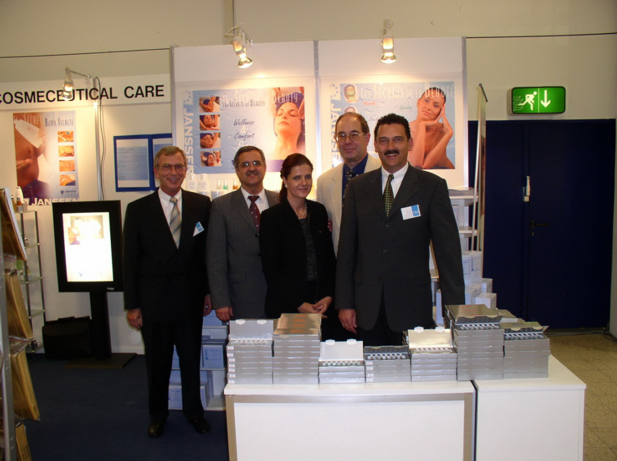 Messe Düsseldorf - Deutschland Team 2003