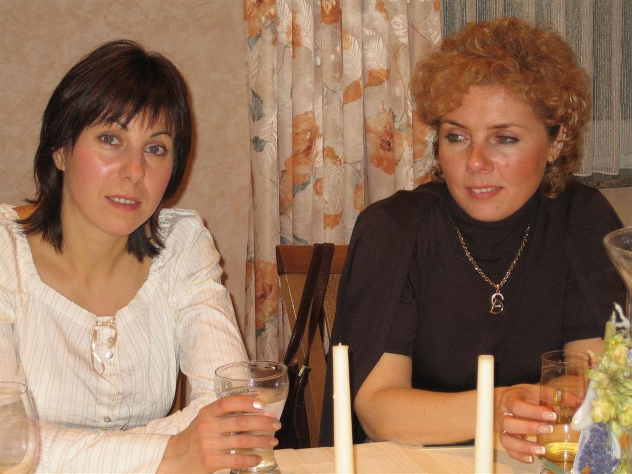 ... Natasha and customer from Moscow 2004