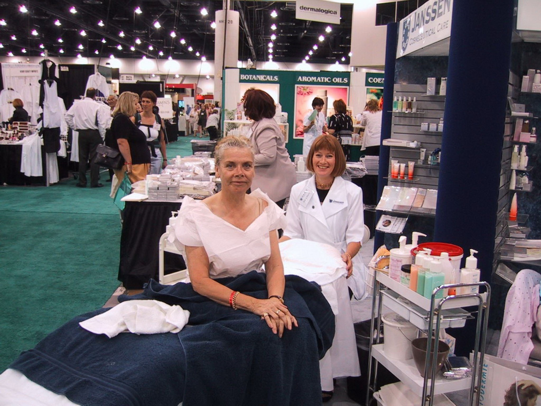 Nita Bown zu Besuch bei Klara Doert in Las Vegas 2000