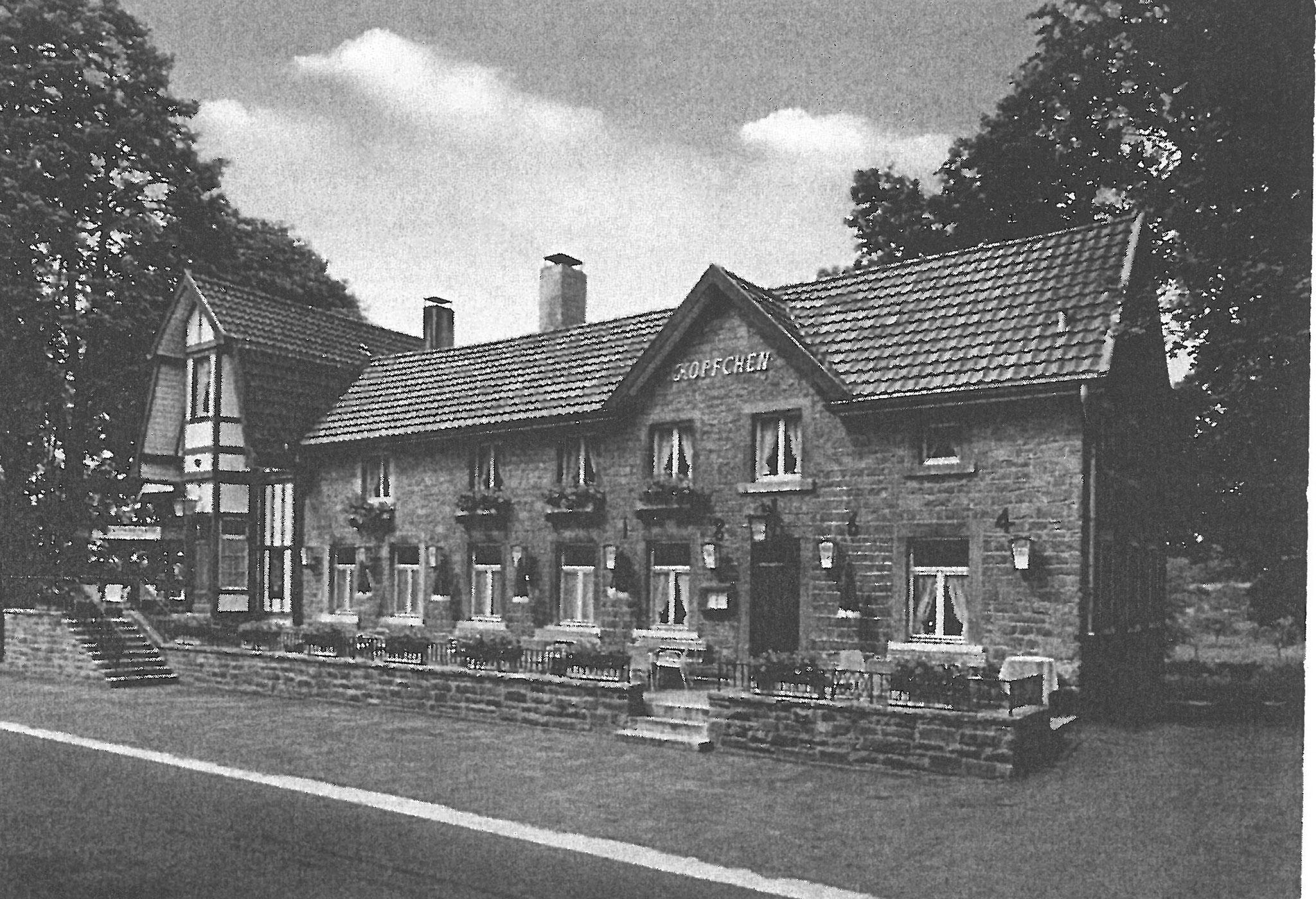 Restaurant und Café Köpfchen 1960