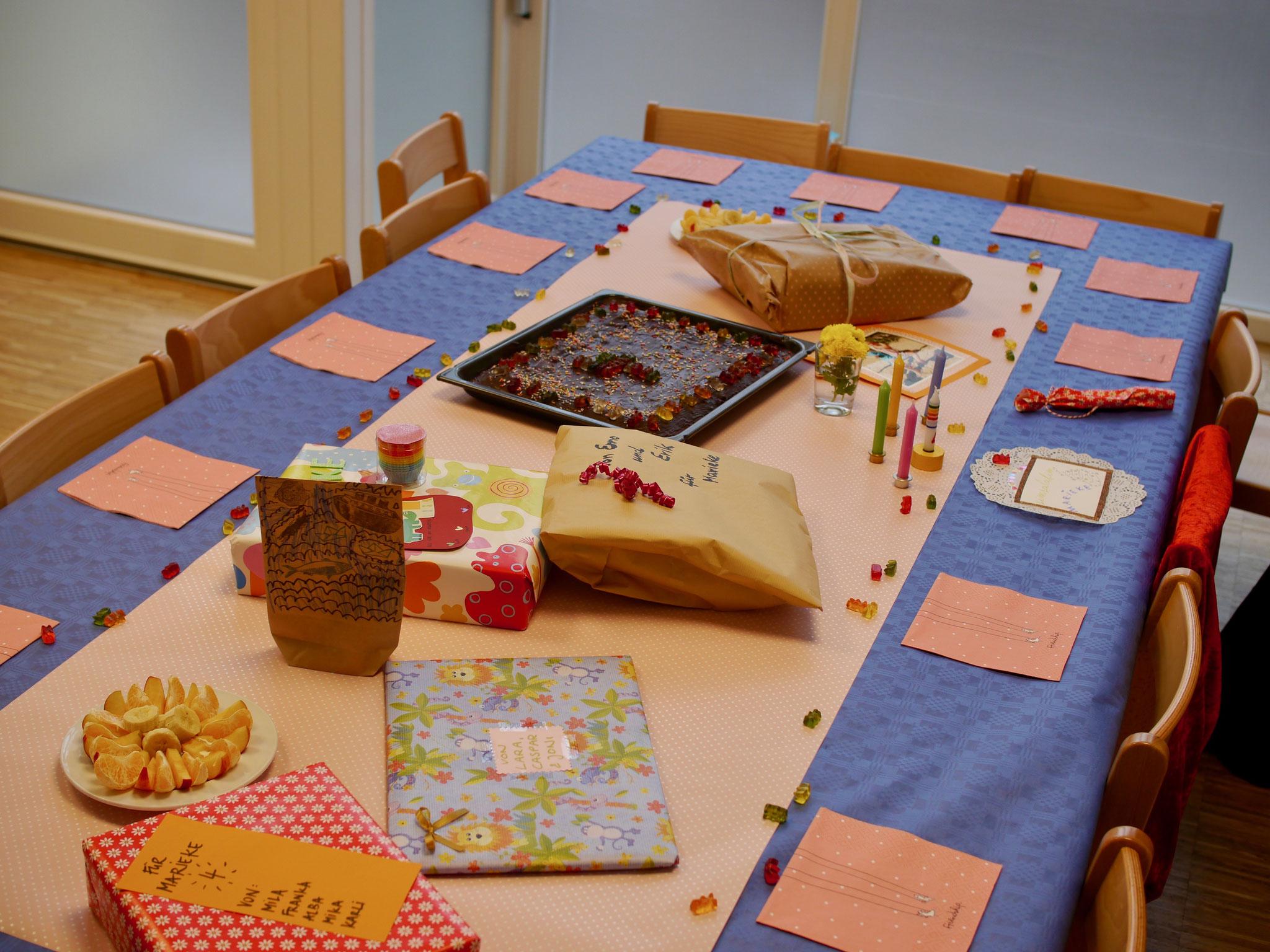 Der Geburtstag jedes Kindes wird groß gefeiert