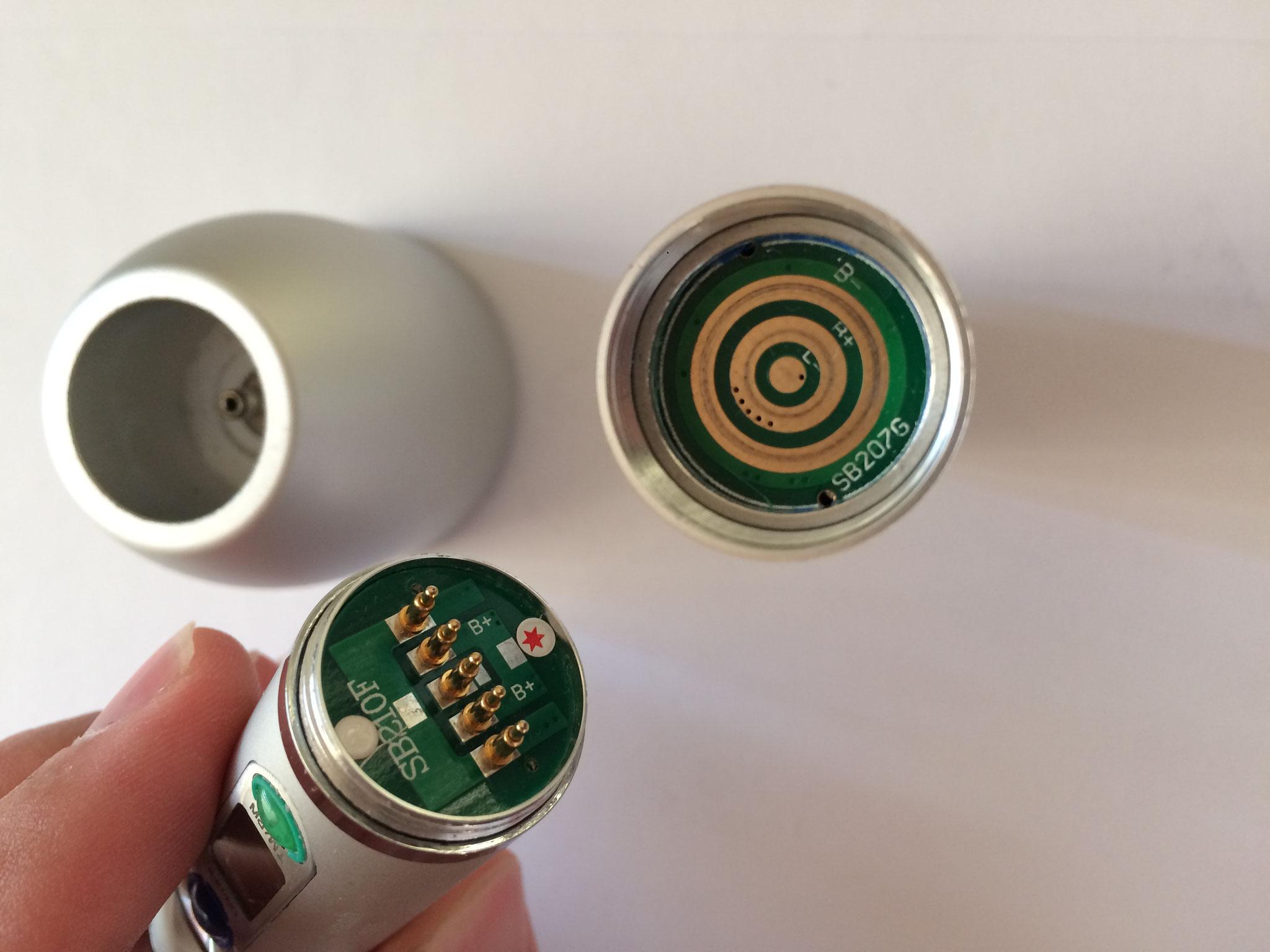 Akku reparatur Fusion Polymerisationsgerät für Zahnärzte.
