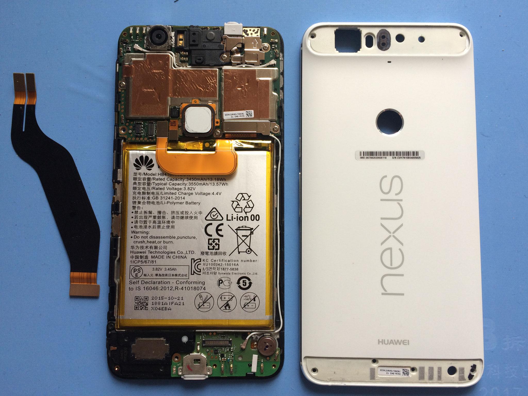Nexus 6p, dieses Telefon machen nicht viele im Markt. Dr. Akku kennt sich aus und macht den Service der Batterie schnell und kompetent!