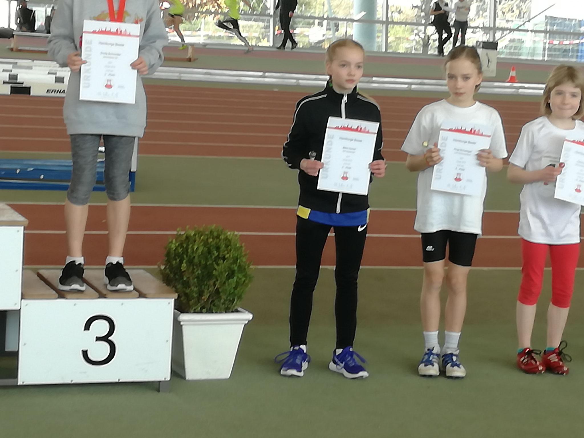 Mara, Platz 4 über 50 m Sprint
