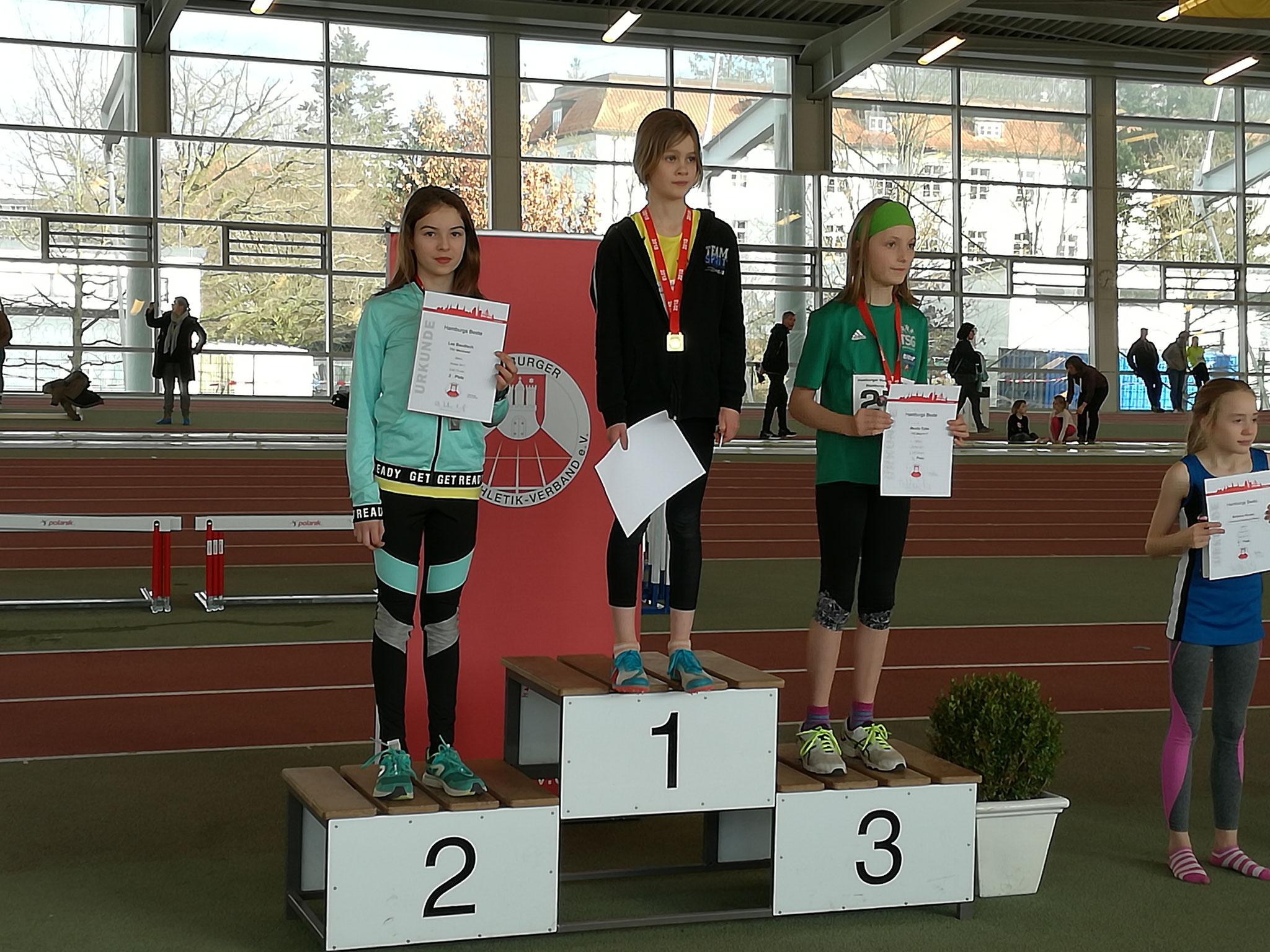 Lea, Hamburger Vizemeisterin Weitsprung und 800 m Lauf