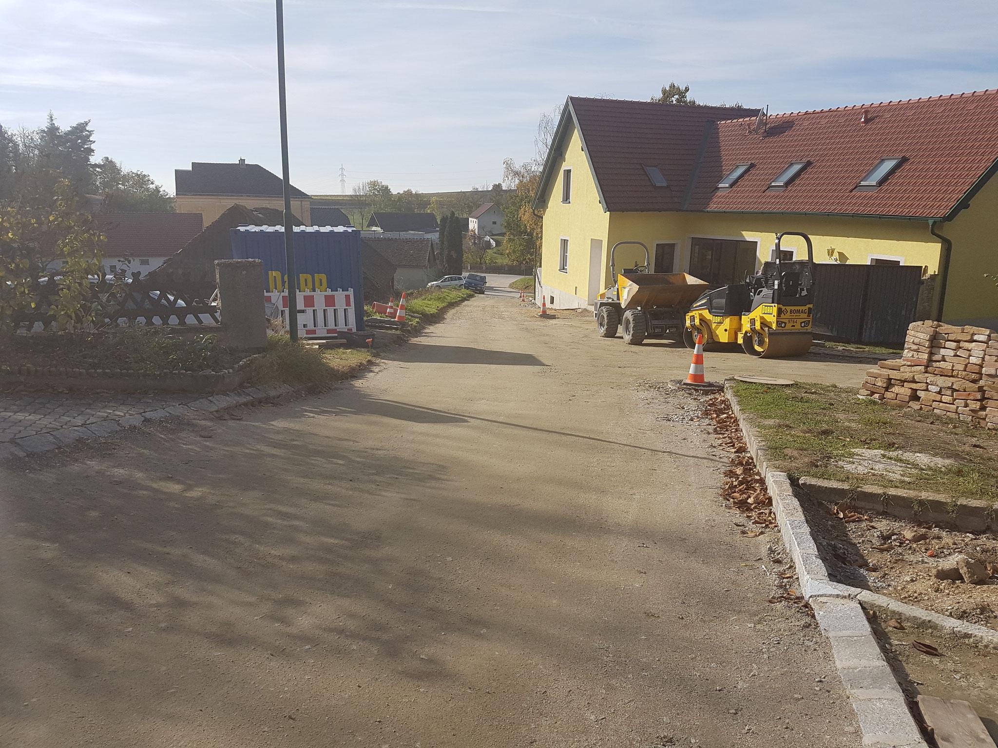 Straße Roßbrunn Neudegg