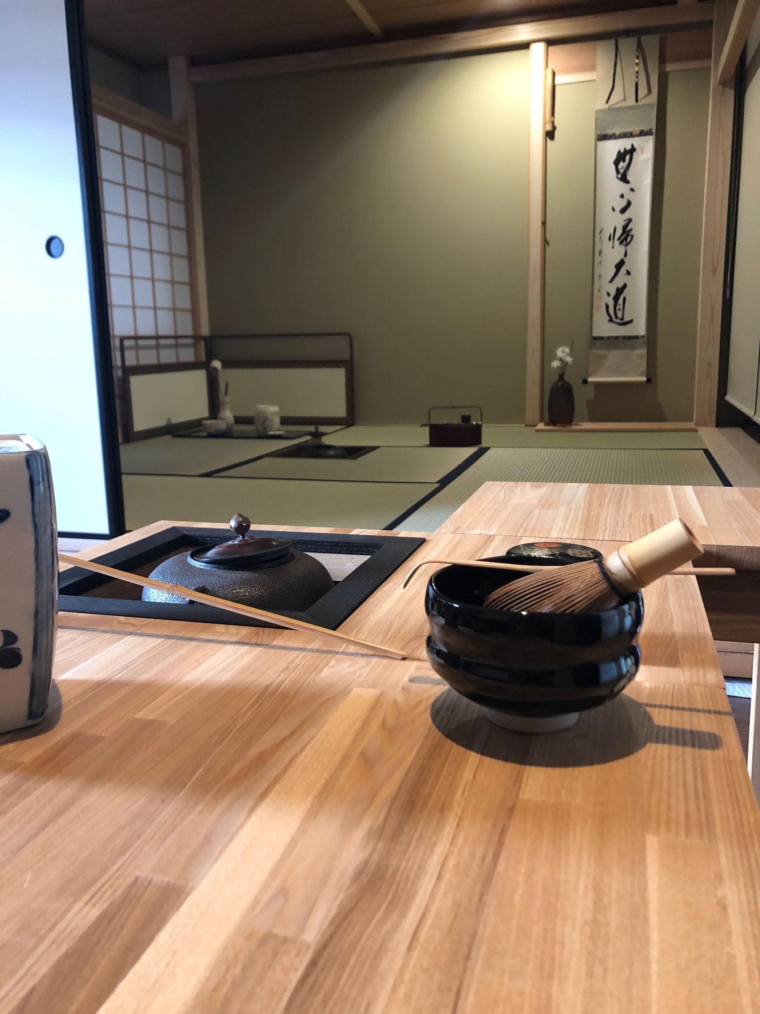 Urasenke Chanoyu:  Clase especial en el estilo moderno