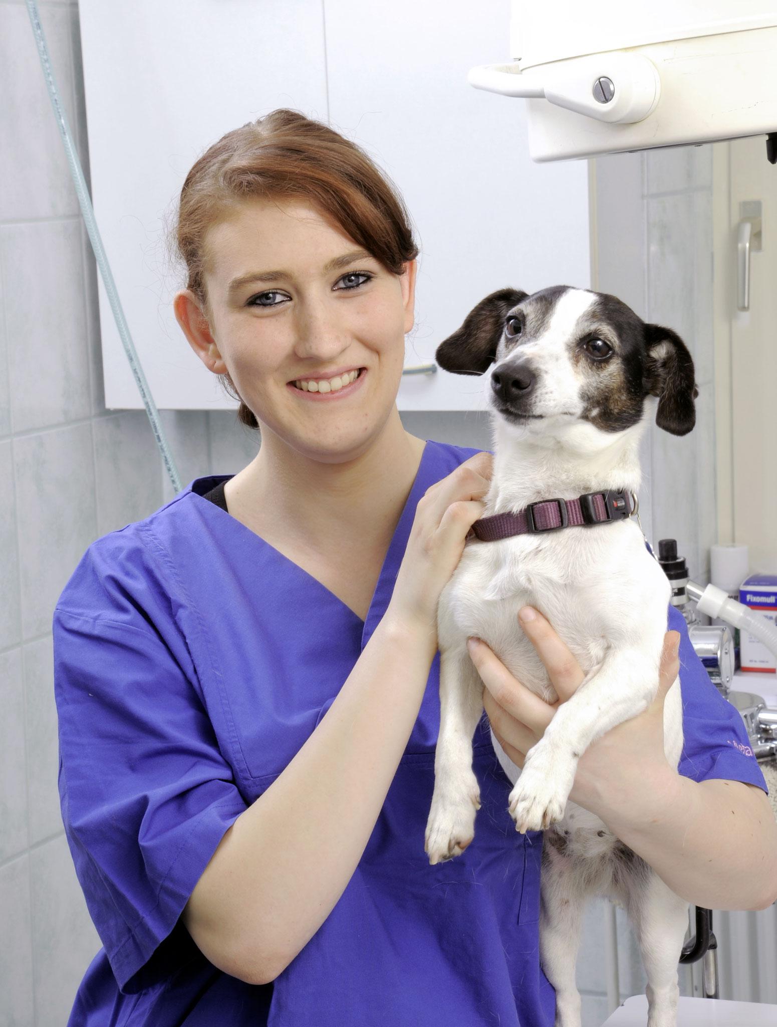 Katharina Stelter (Tiermedizinische Fachangestellte)