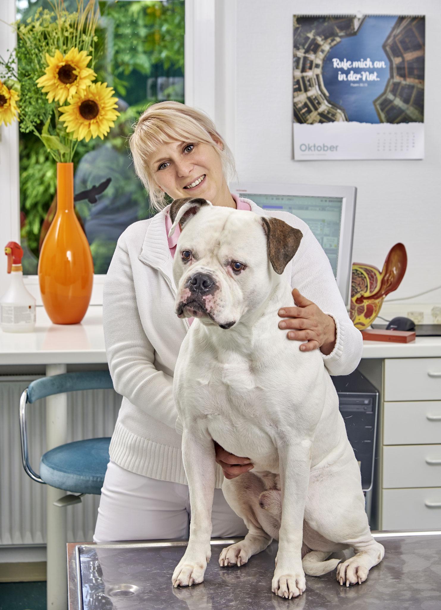 Marion Ohrt (Tiermedizinische Fachangestellte)