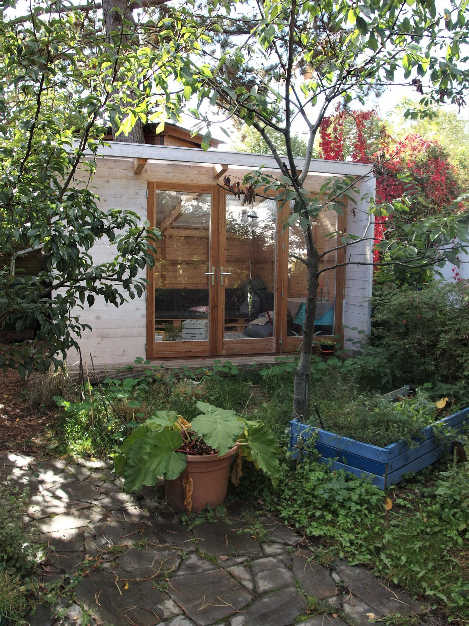 individuell gefertigtes Gartenhaus