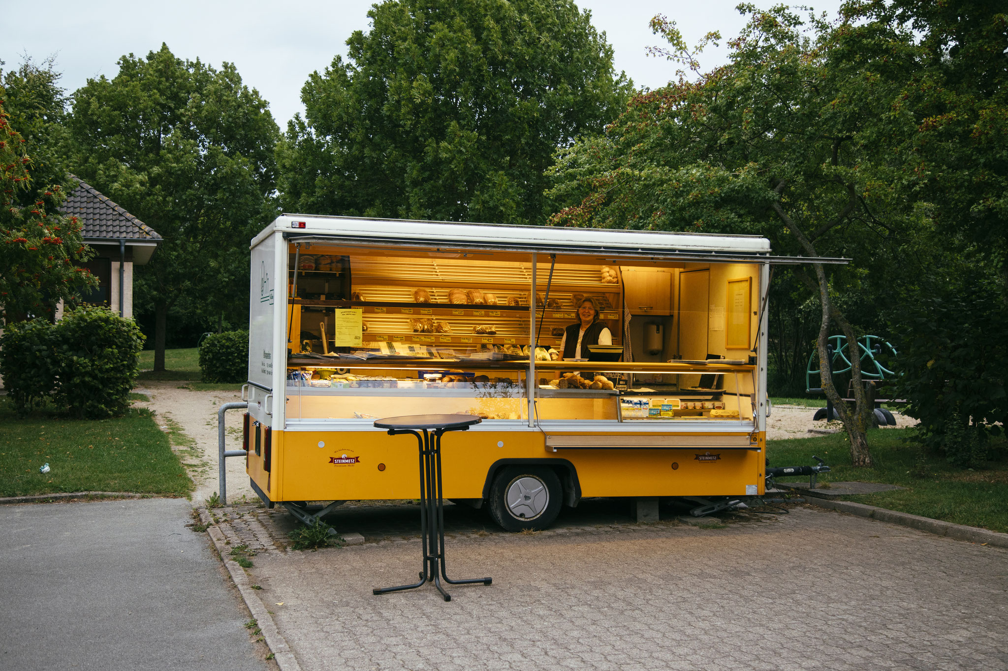 Bäckerwagen in Maasholm-Bad