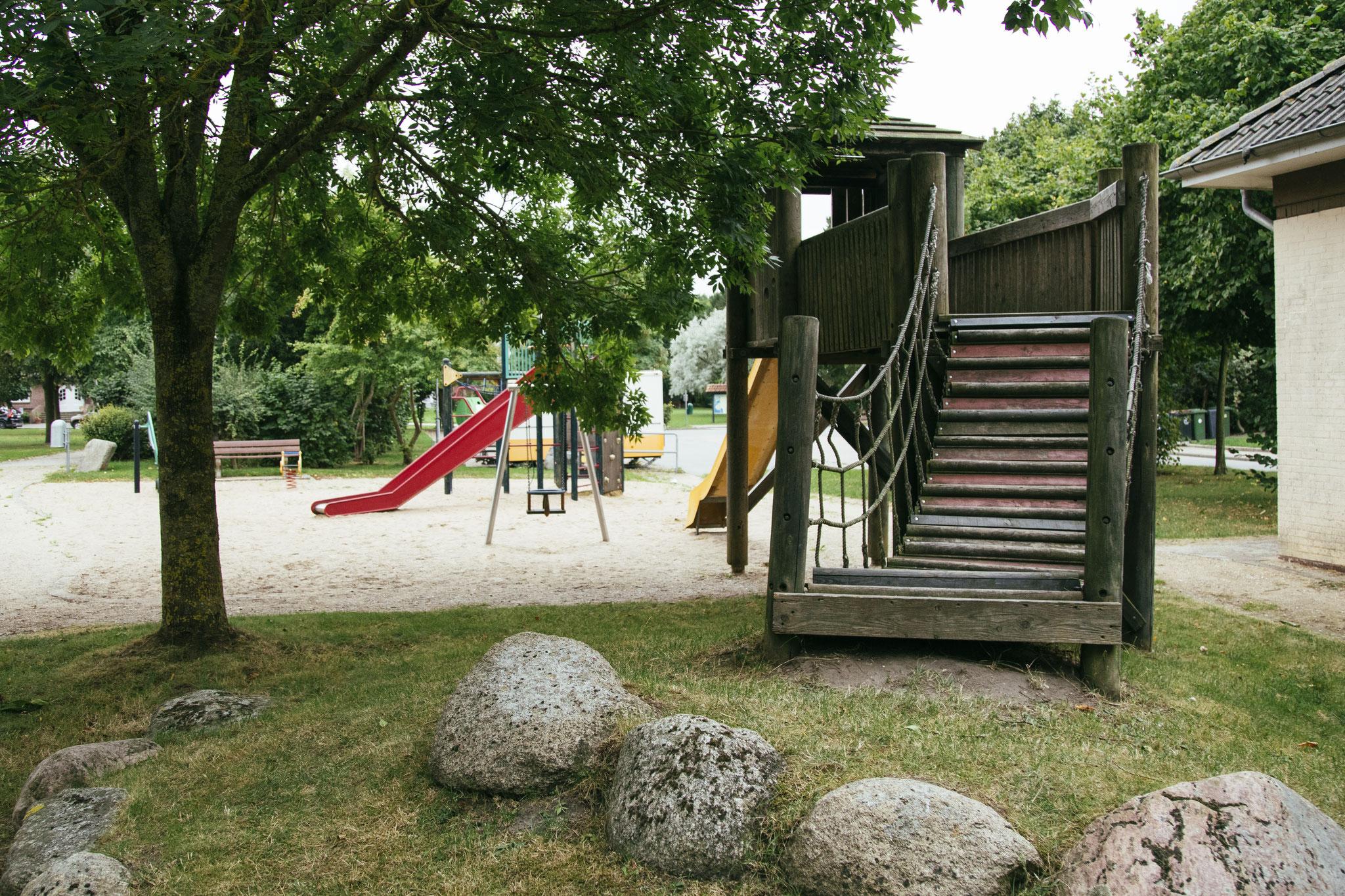 Spielplatz im Park von Maasholm-Bad