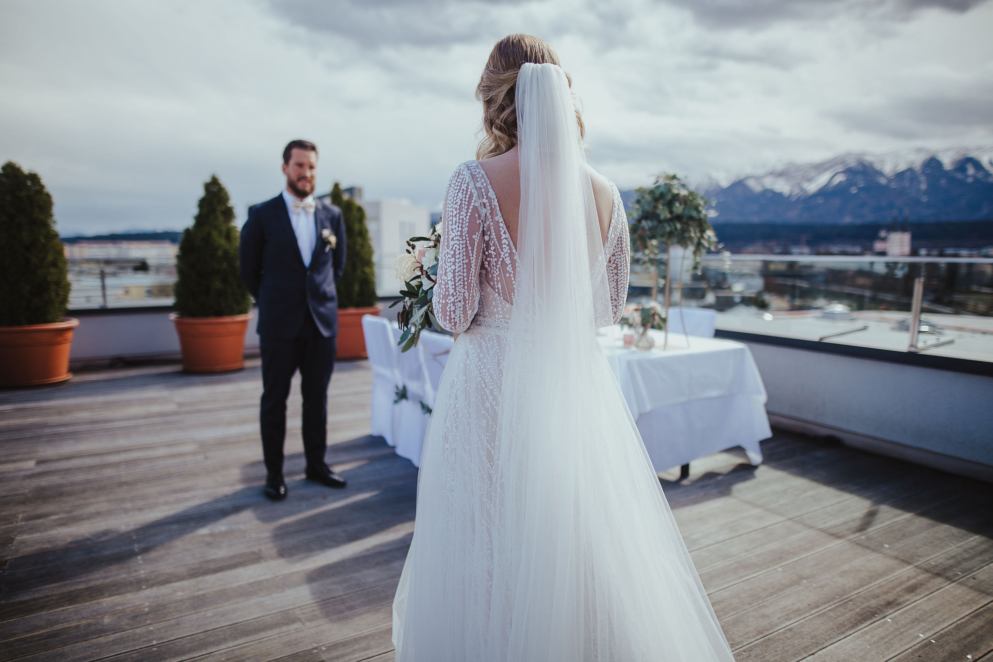 Traumhochzeit im Holiday Inn & Congress Center Villach - © Christina Supanz