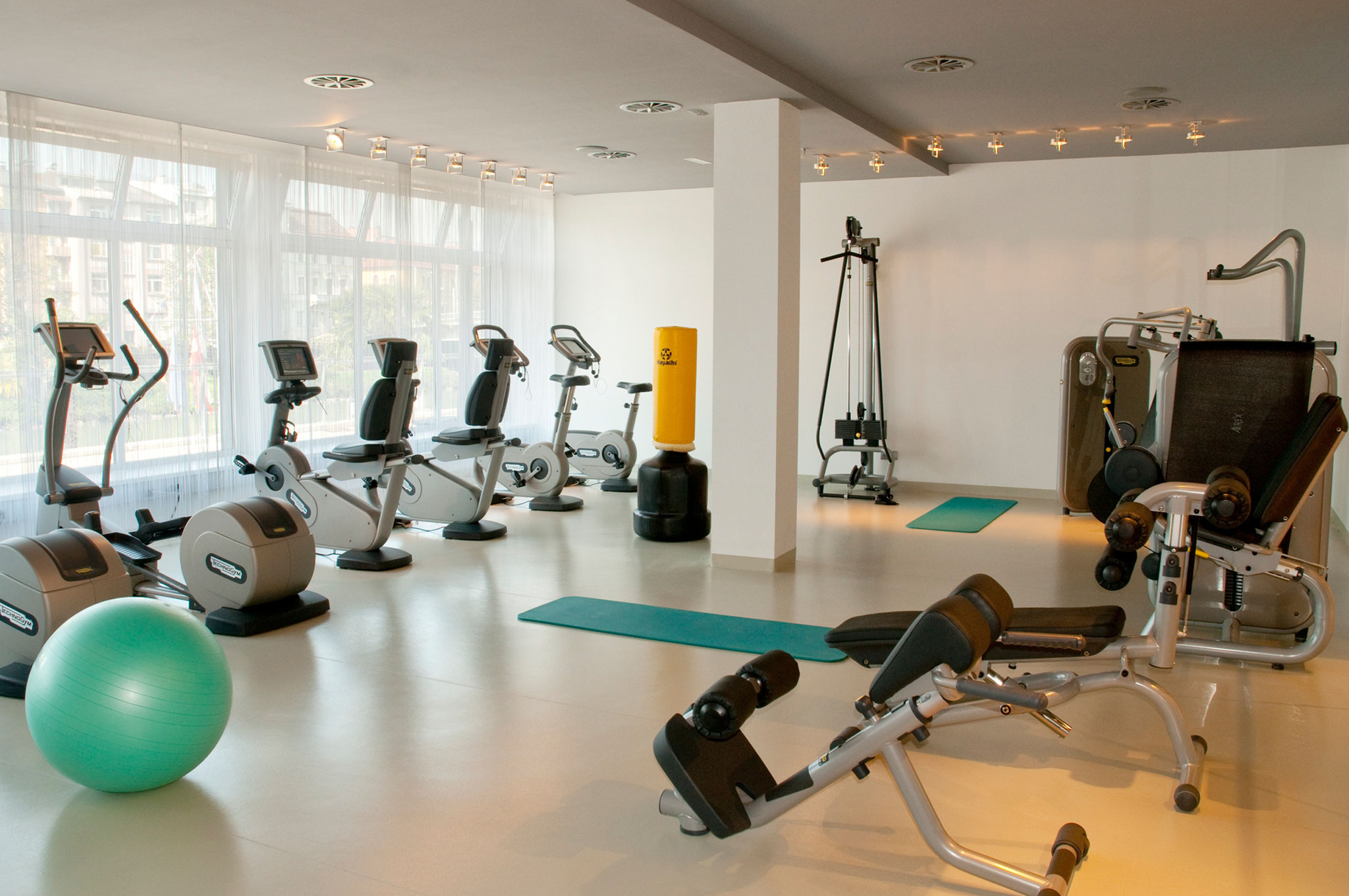 Fitnessraum - © Holiday Inn & Congress Center Villach