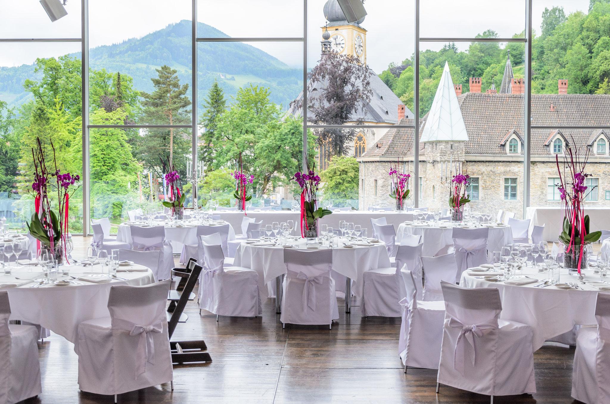 Hochzeitstafel - © Schlosshotel Eisenstrasse