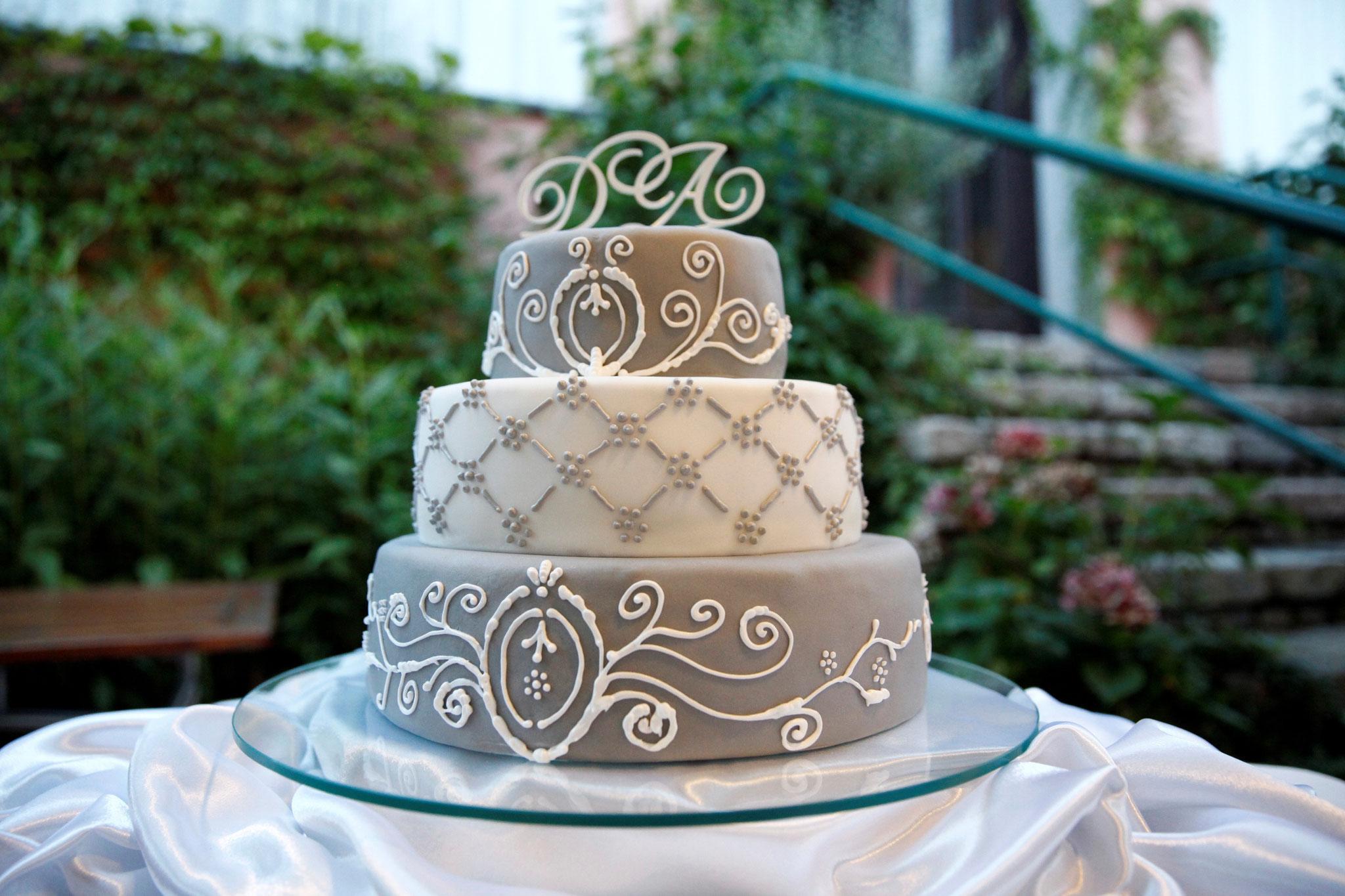 Traumhafte Hochzeitstorte