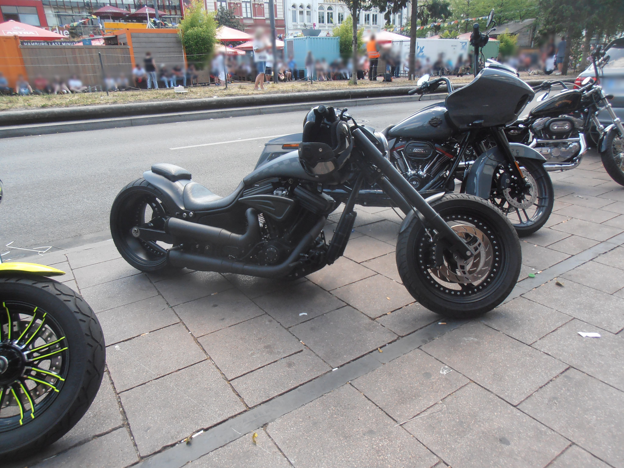 Impressionen Harley Days 2019 Hamburg St. Pauli